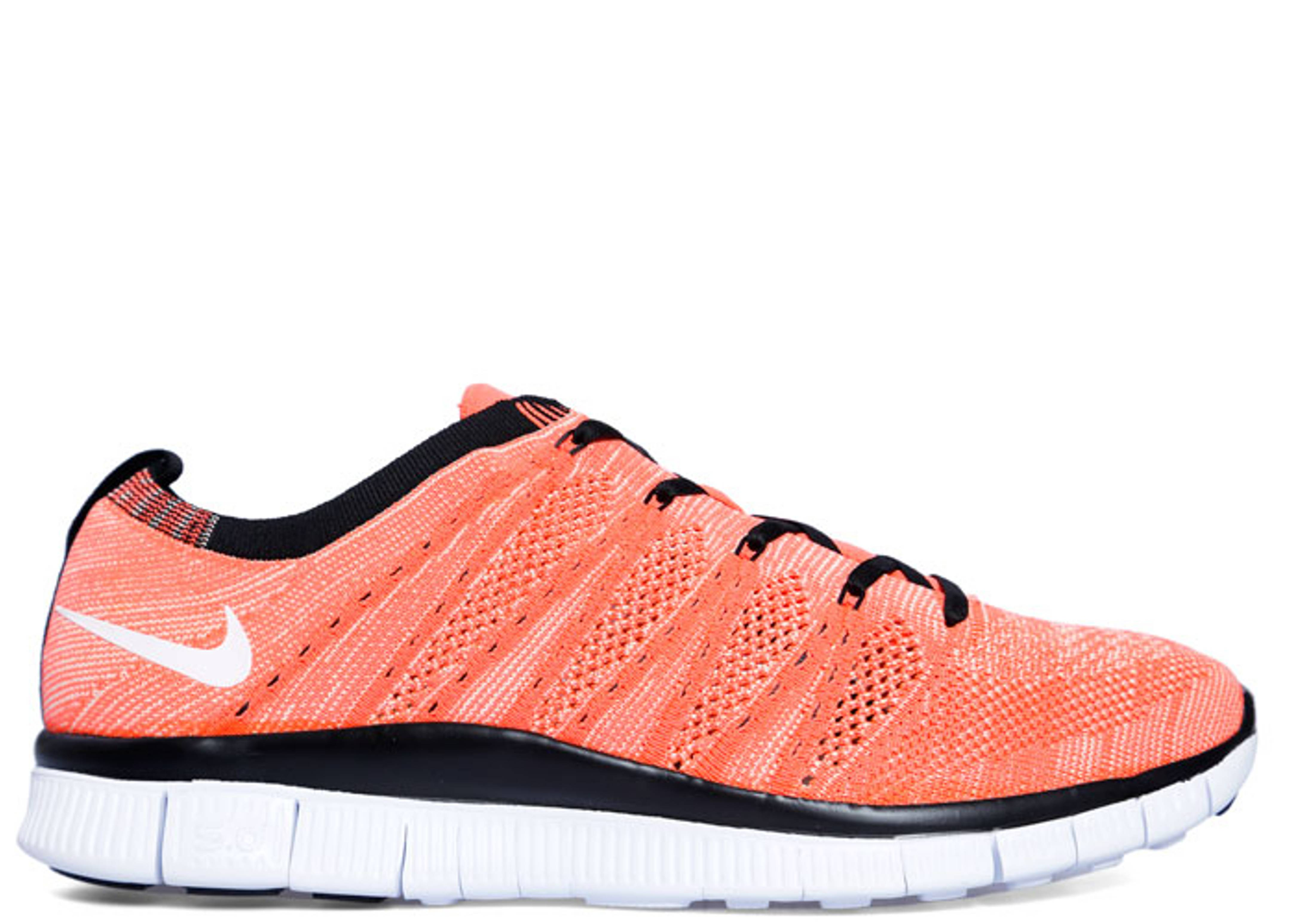 0bfc0ea215a2 Free Flyknit Nsw - Nike - 599459 800 - hot lava white-vapor green ...