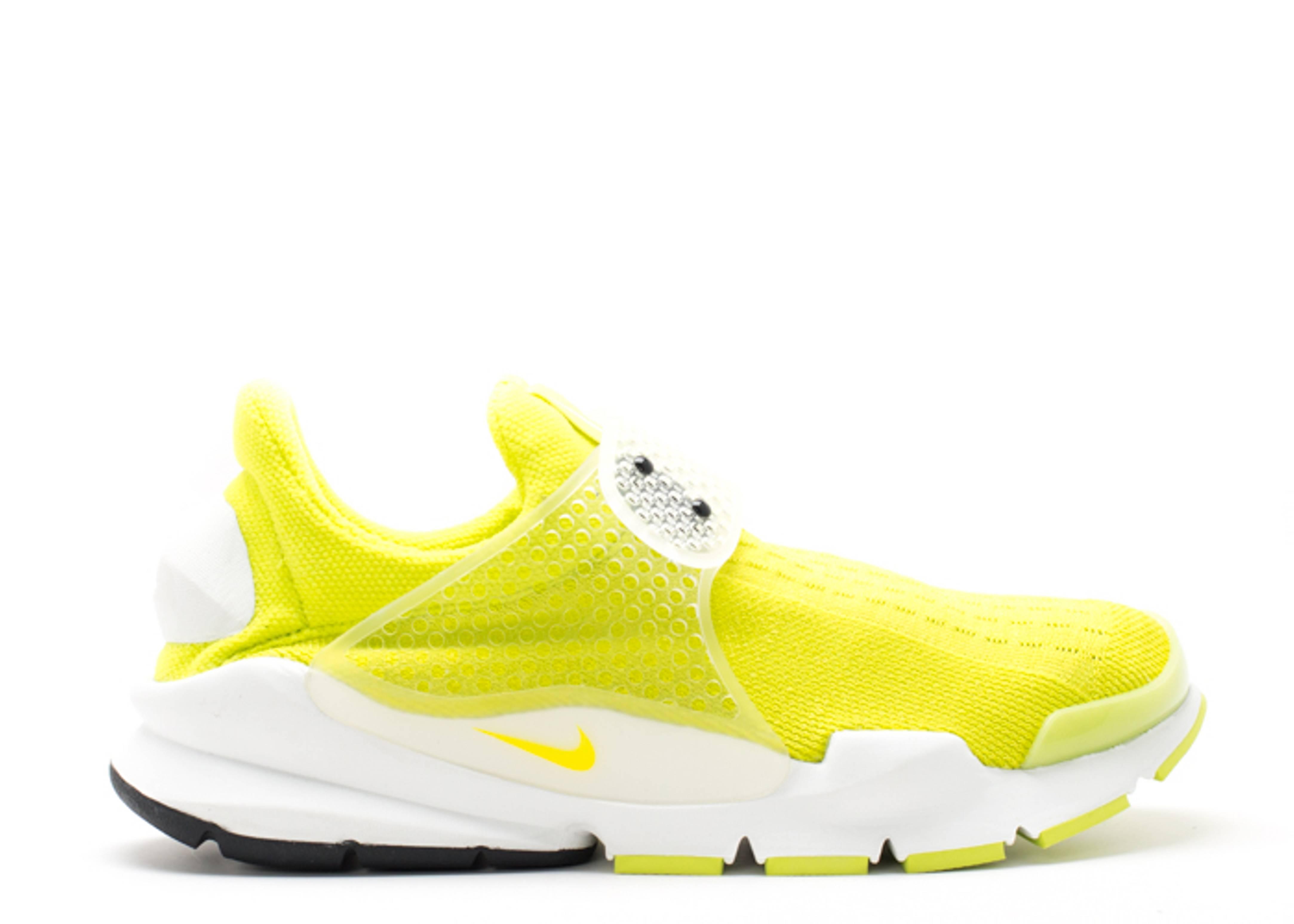 new concept 735f7 3358e Sock Dart Sp - Nike - 686058 771 - neon yellow nnyellow-smmt wht   Flight  Club