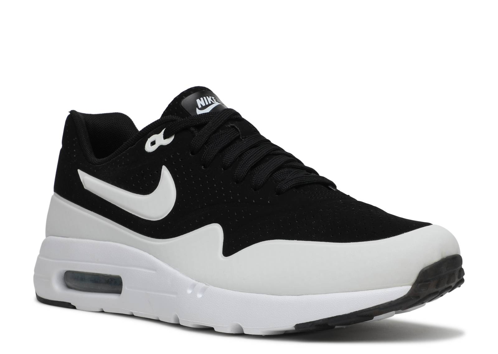 air max 1 ultra moire nike 705297 001 black white. Black Bedroom Furniture Sets. Home Design Ideas