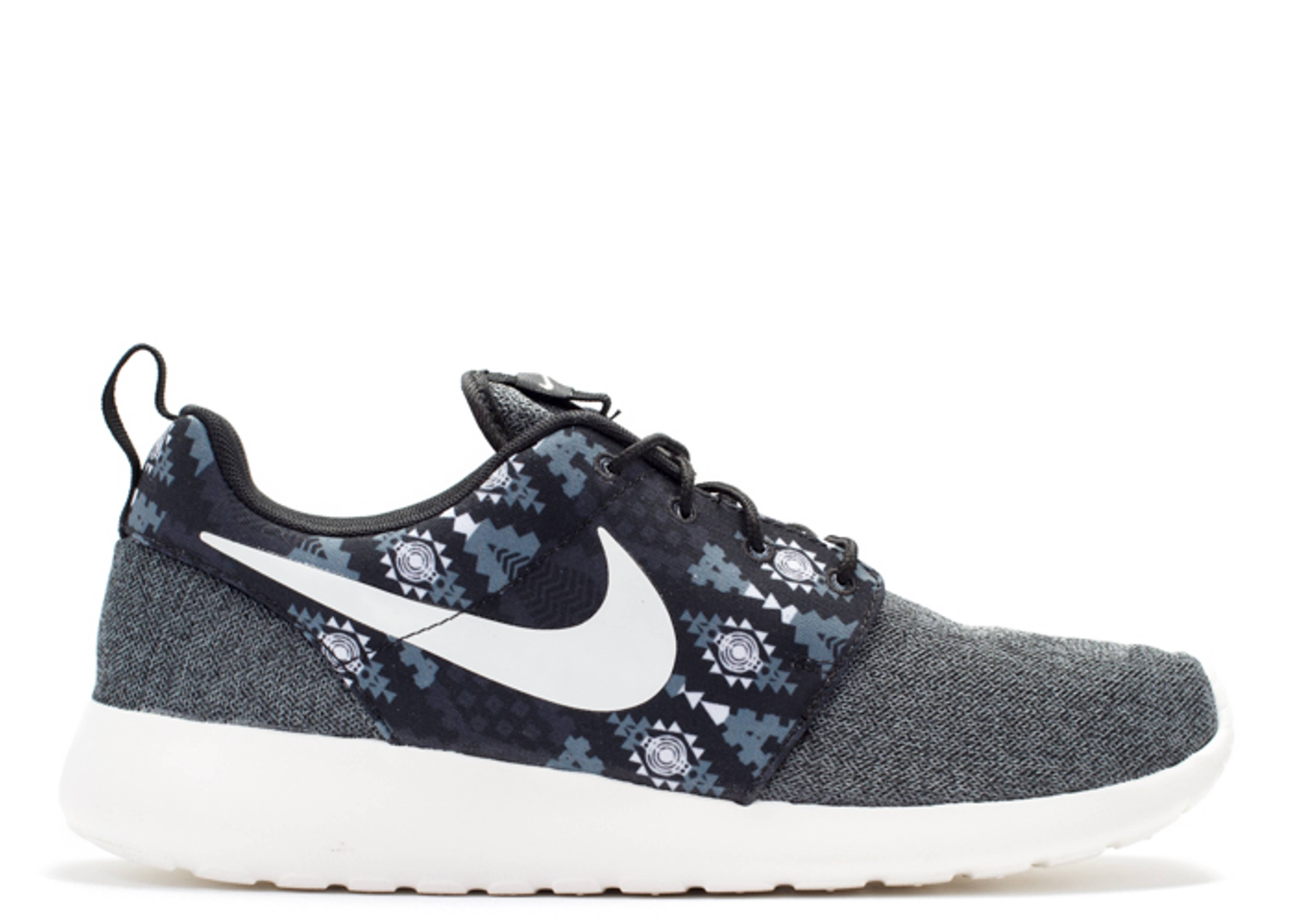 low priced 5e98a 3f2c7 Roshe One Print - Nike - 655206 012 - black sail-anthracite-cl grey    Flight Club