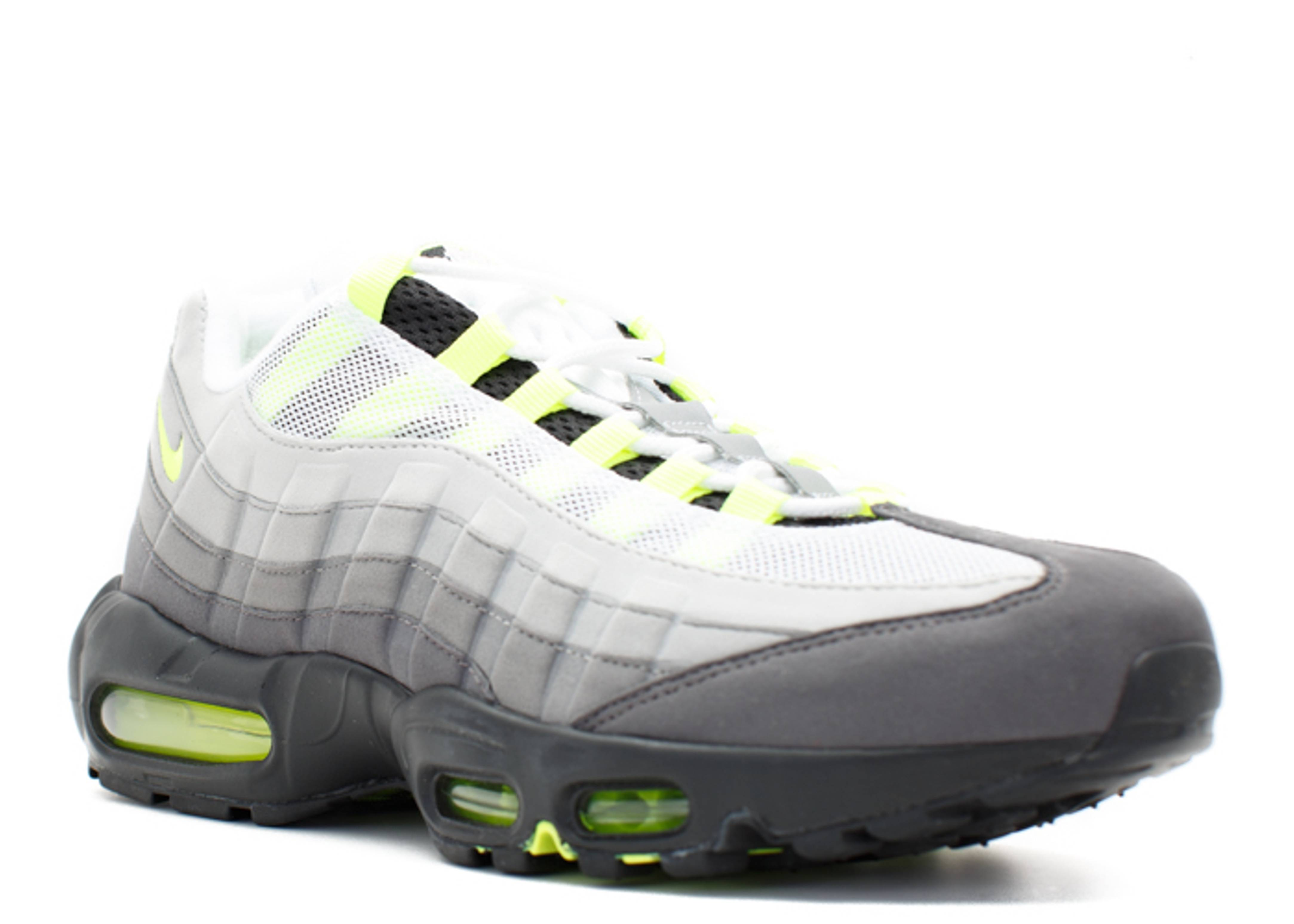 air max 95 og neon black volt medium ash flight club. Black Bedroom Furniture Sets. Home Design Ideas
