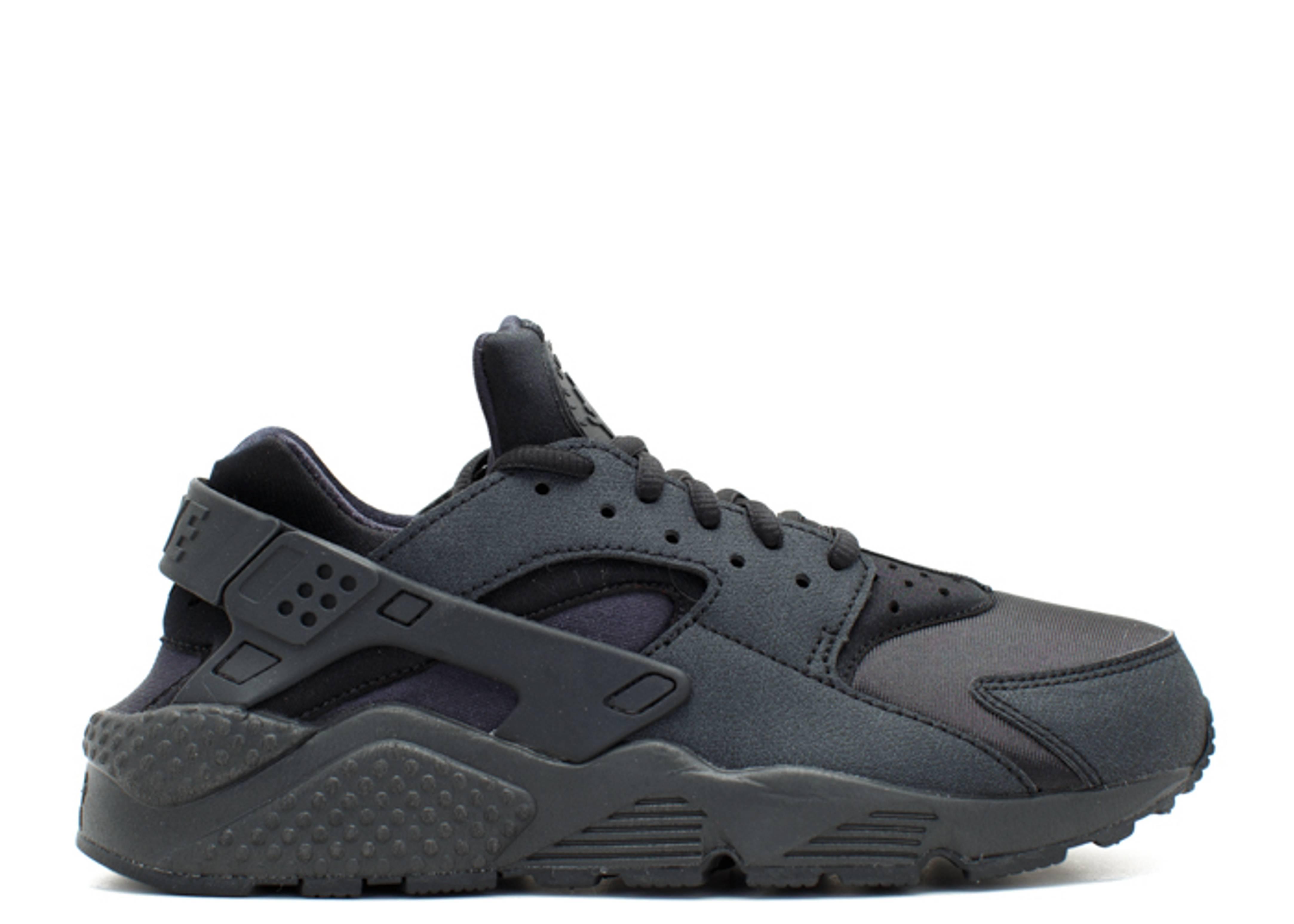 W s Air Huarache Run - Nike - 634835 009 - black black  f2f39e854f