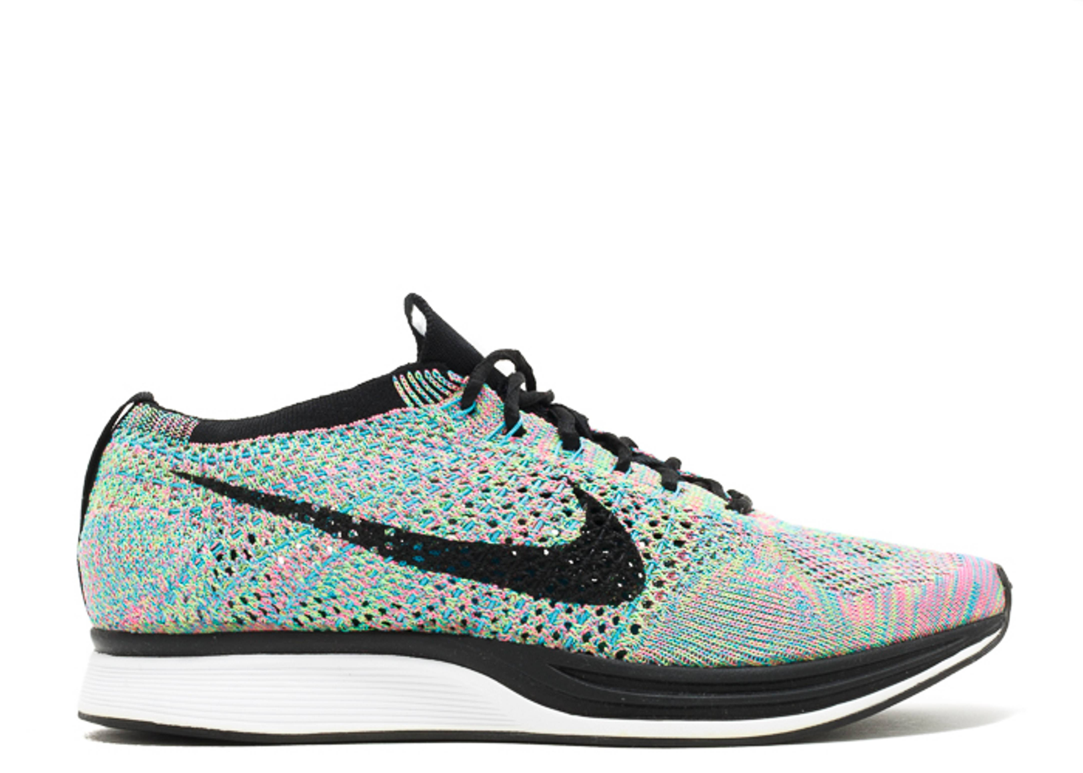 "flyknit racer ""multi-color"""