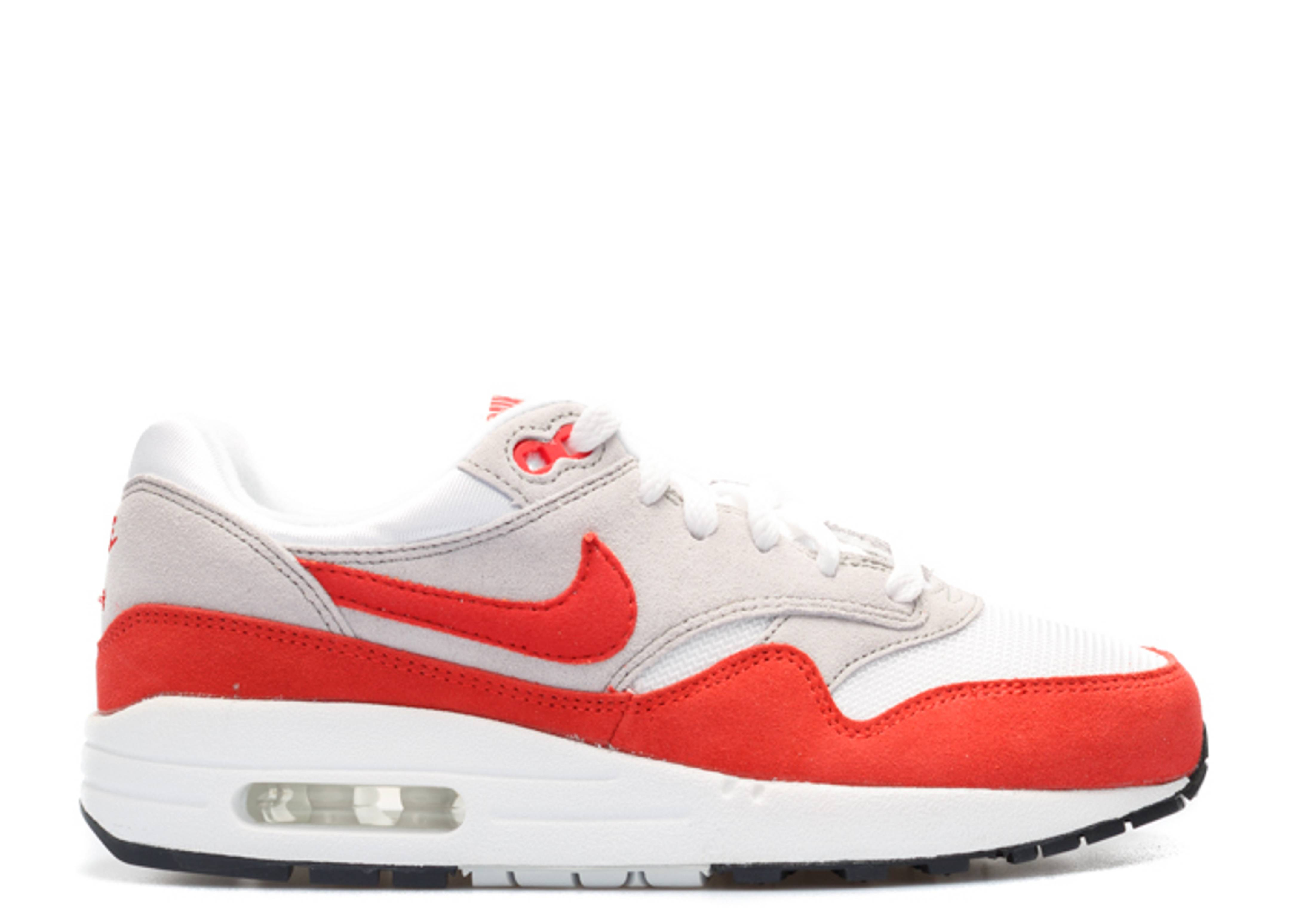Air Max 1 Og (gs) - Nike - 555766 146 - white chillng red-ntrl gry-blk  bbe72025e