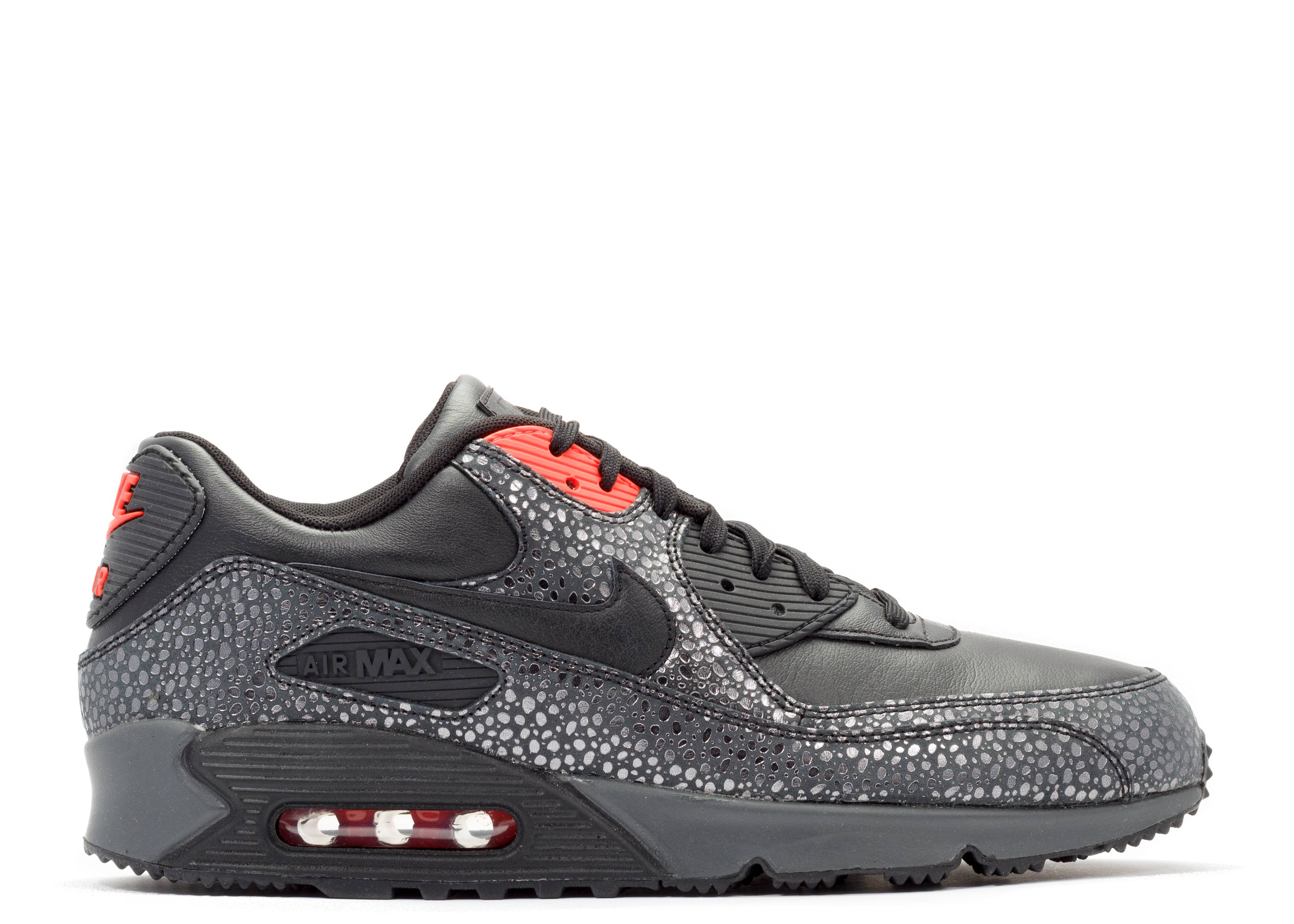 Air Max 90 Deluxe - Nike - 684710 001 - black black-infrared-anthrct ... a2116d10bb1