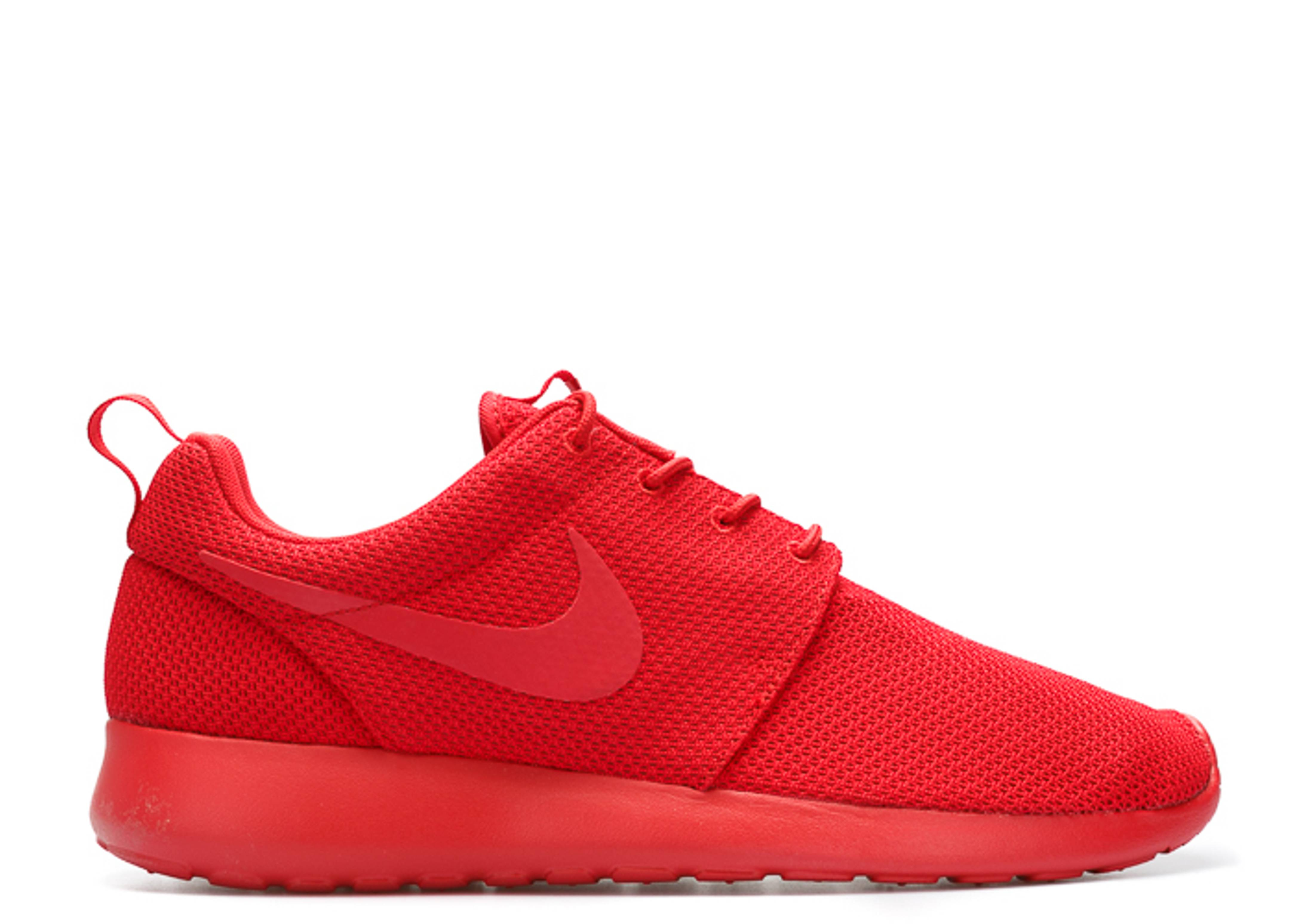 "roshe one ""triple red"""