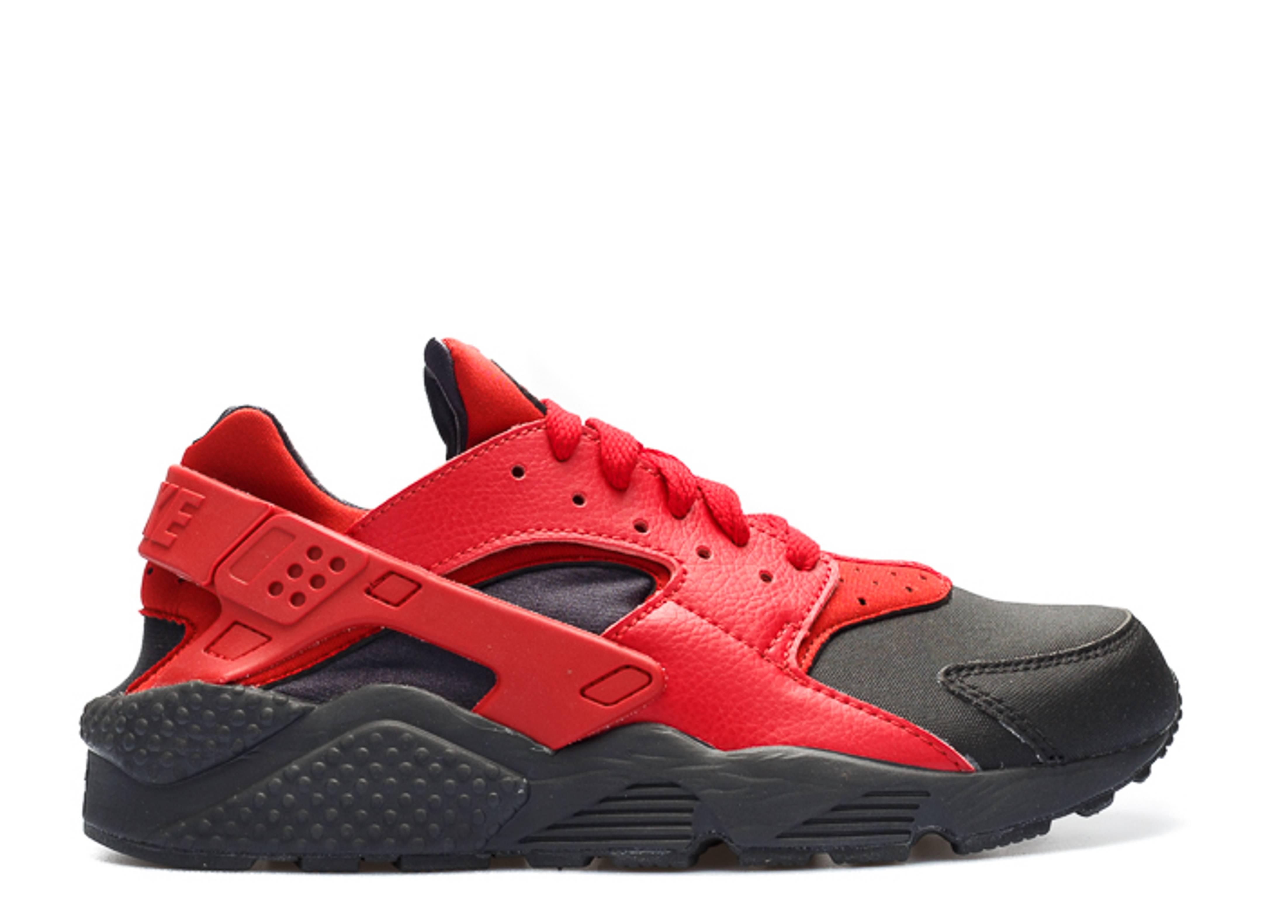 8ddfda9d2e Air Huarache Run Prm - Nike - 704830 006 - black/gym red-gym red ...