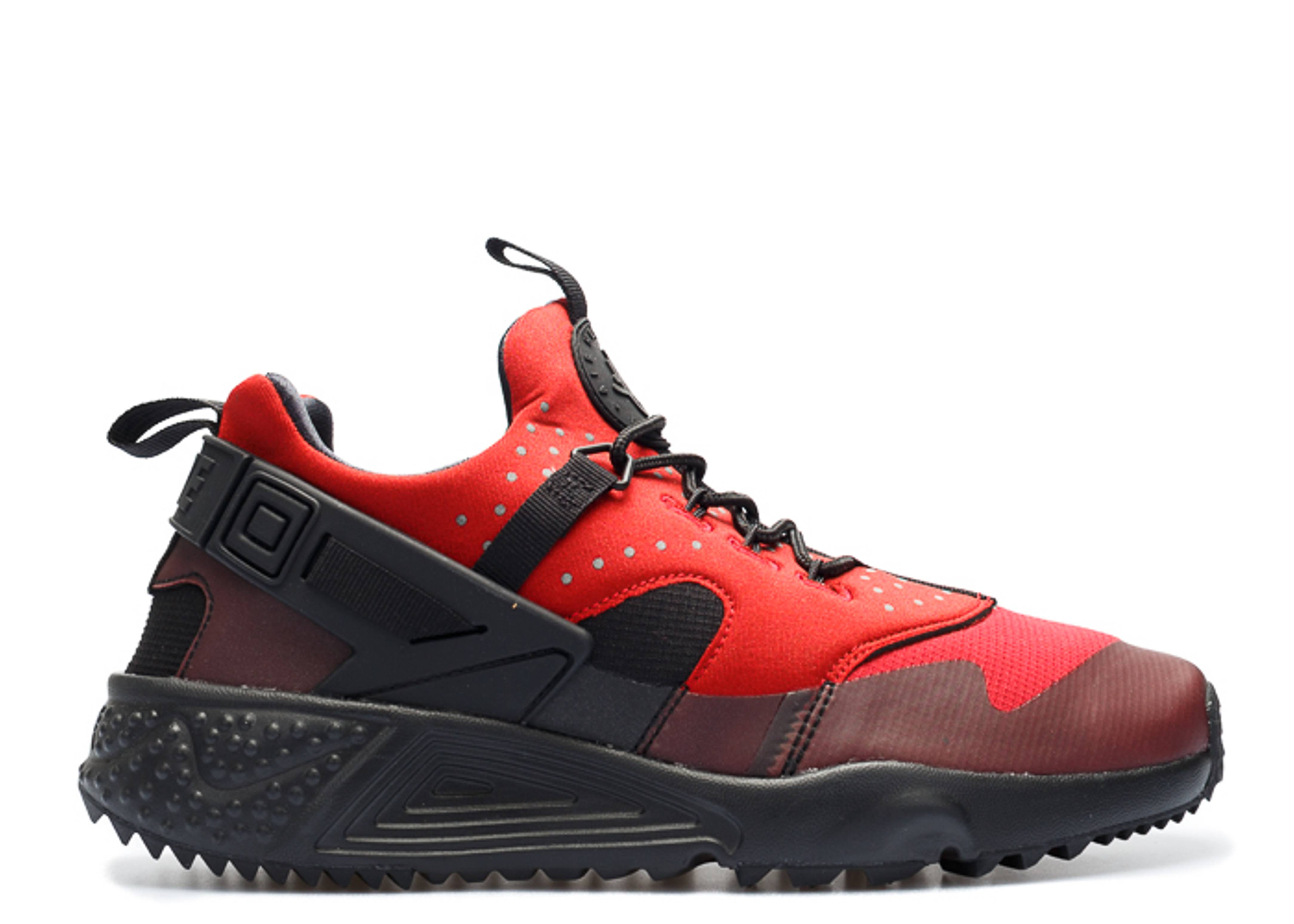 "nike air huarache utility ""Gym Red Black"""