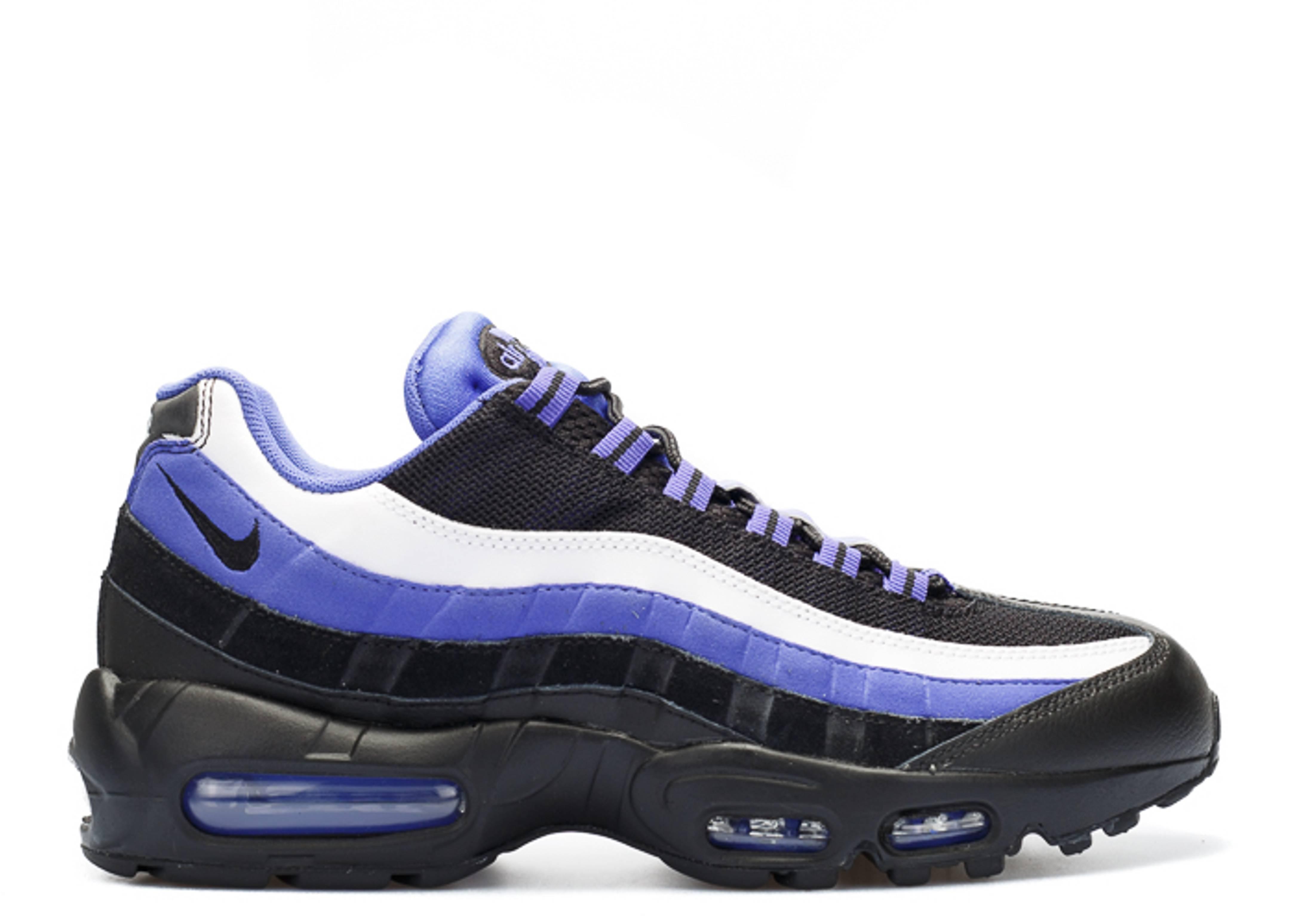 air max 95 black purple white men flight club. Black Bedroom Furniture Sets. Home Design Ideas