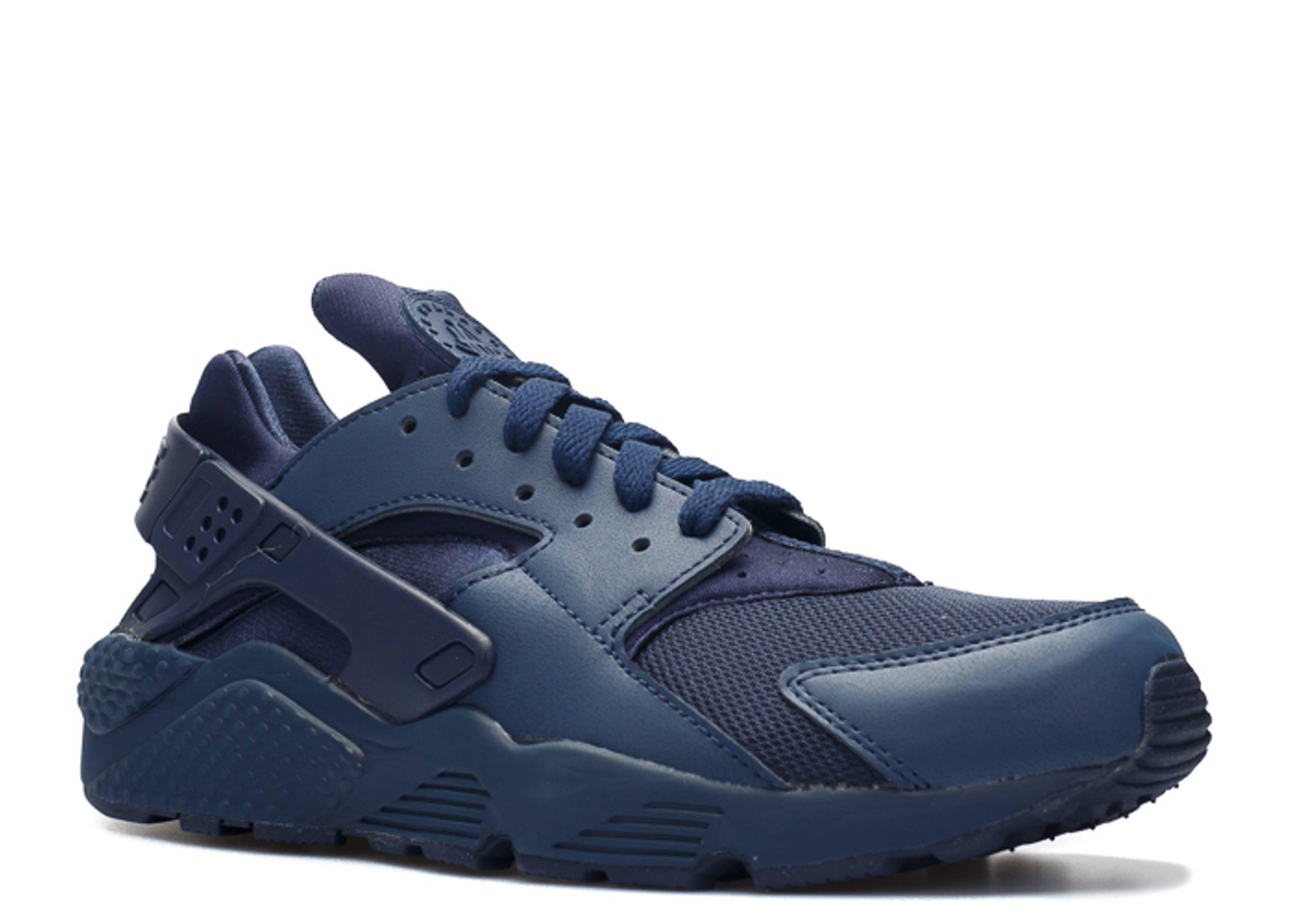 nike air huarache triple blue sneaker discount. Black Bedroom Furniture Sets. Home Design Ideas