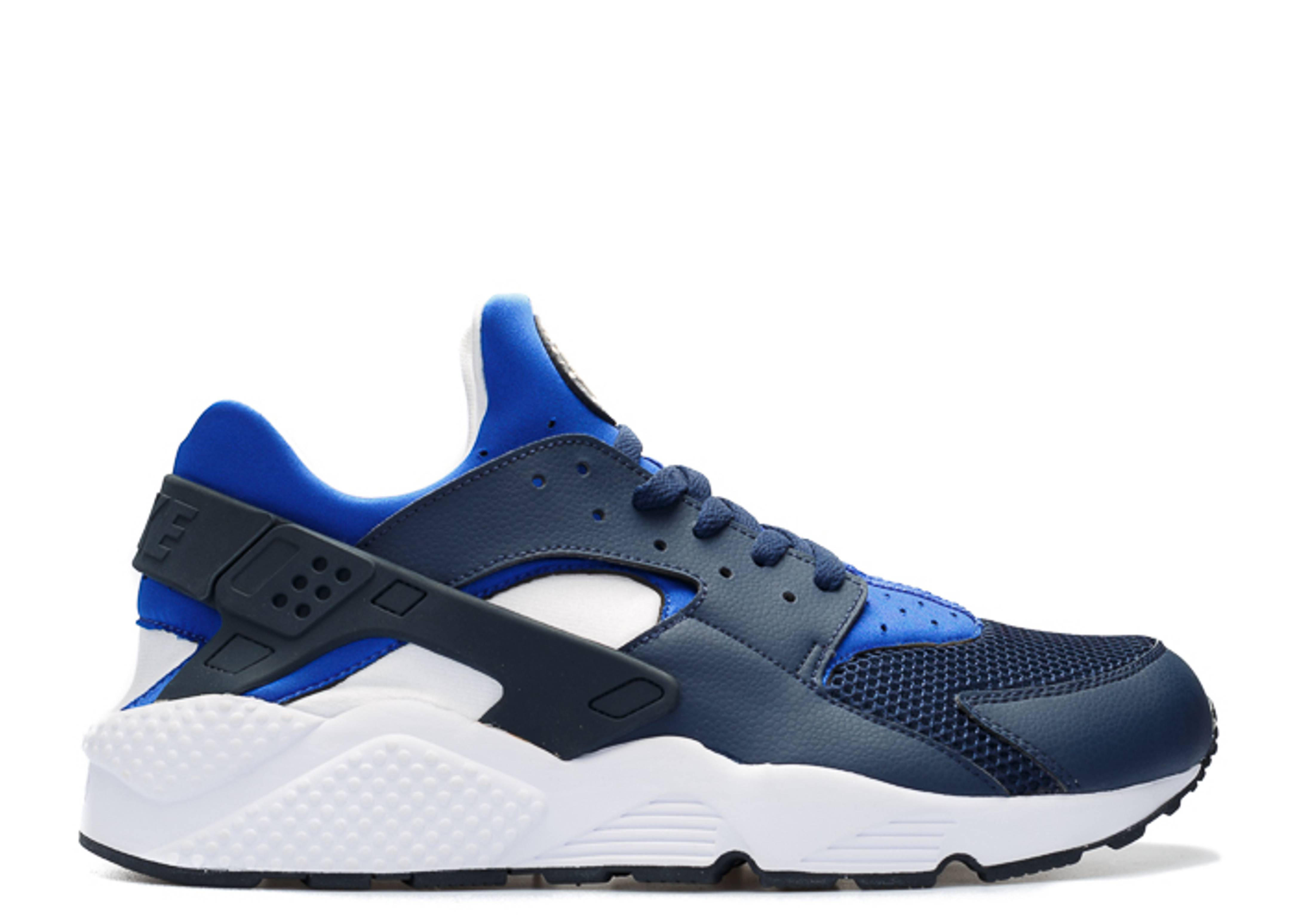f671282b1cda Air Huarache - Nike - 318429 442 - midnight navy lyon blue-white ...
