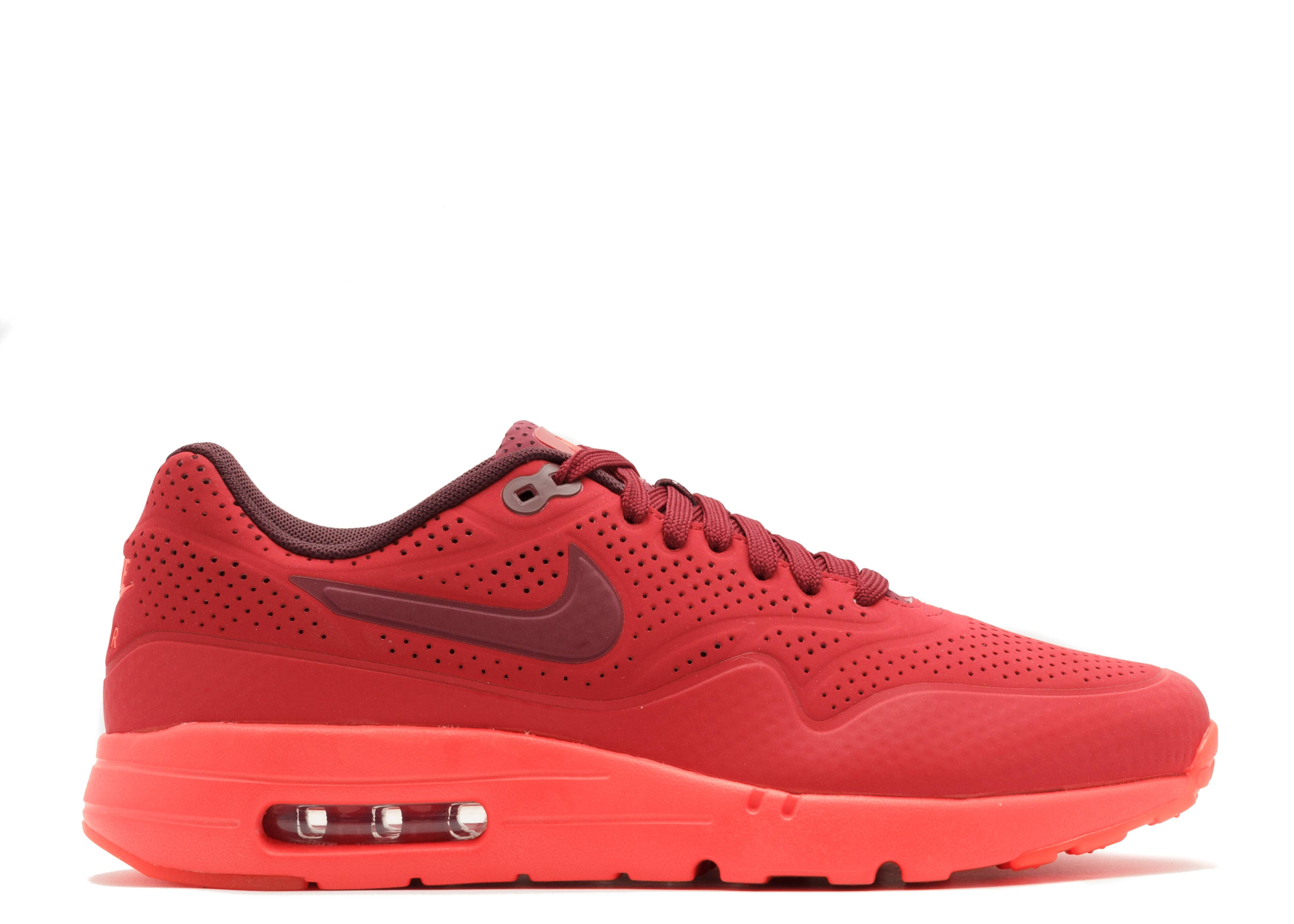 Air Max 1 Ultra Moire - Nike - 705297 600 - gym red team red-unvrsty red  f30d94f75f27
