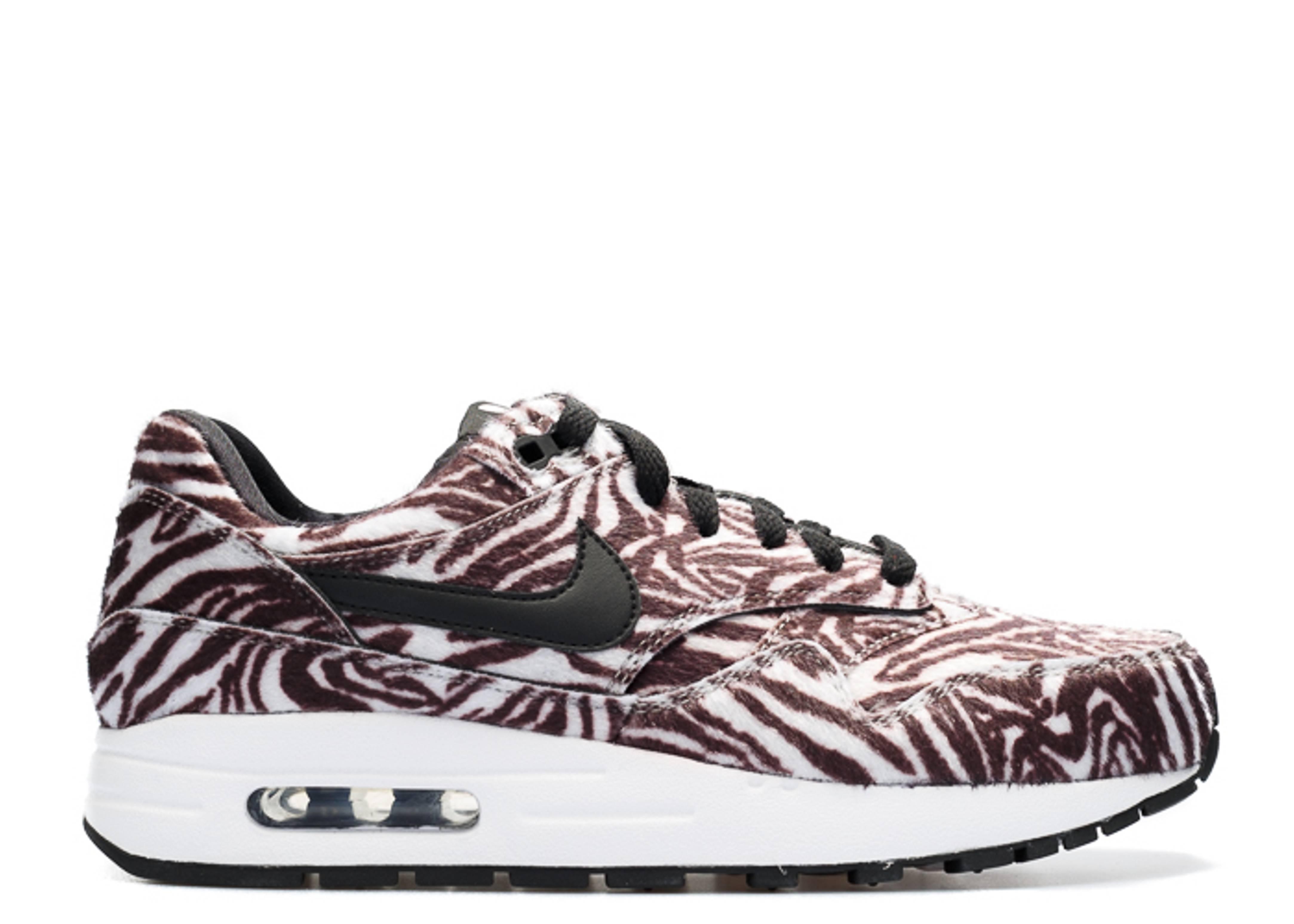 """air max 1 qs (gs) """"zoo pack zebra"""""""