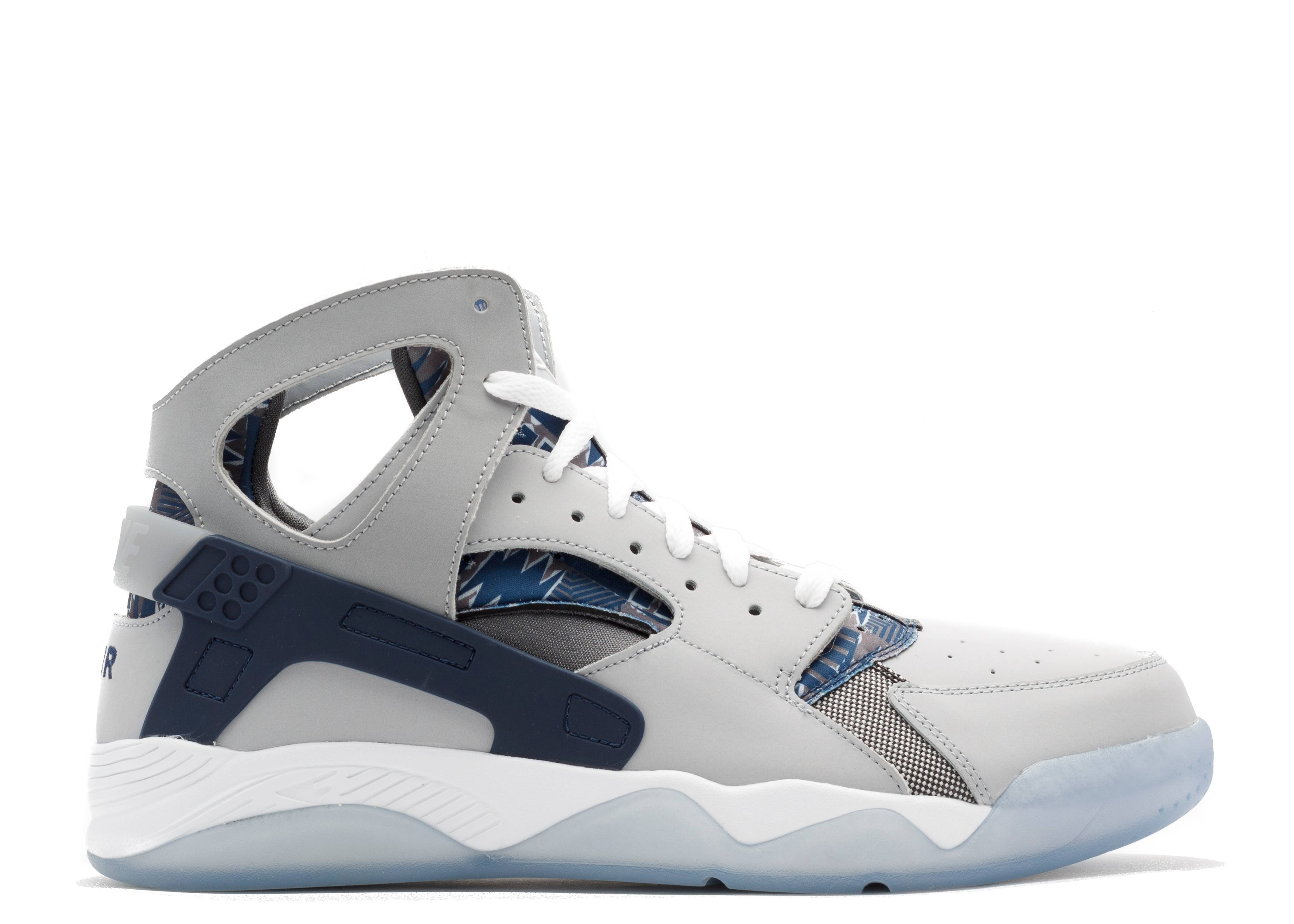 631a6d8651e8 Air Flight Huarache - Nike - 705005 001 - wolf grey mid navy-drk gry ...