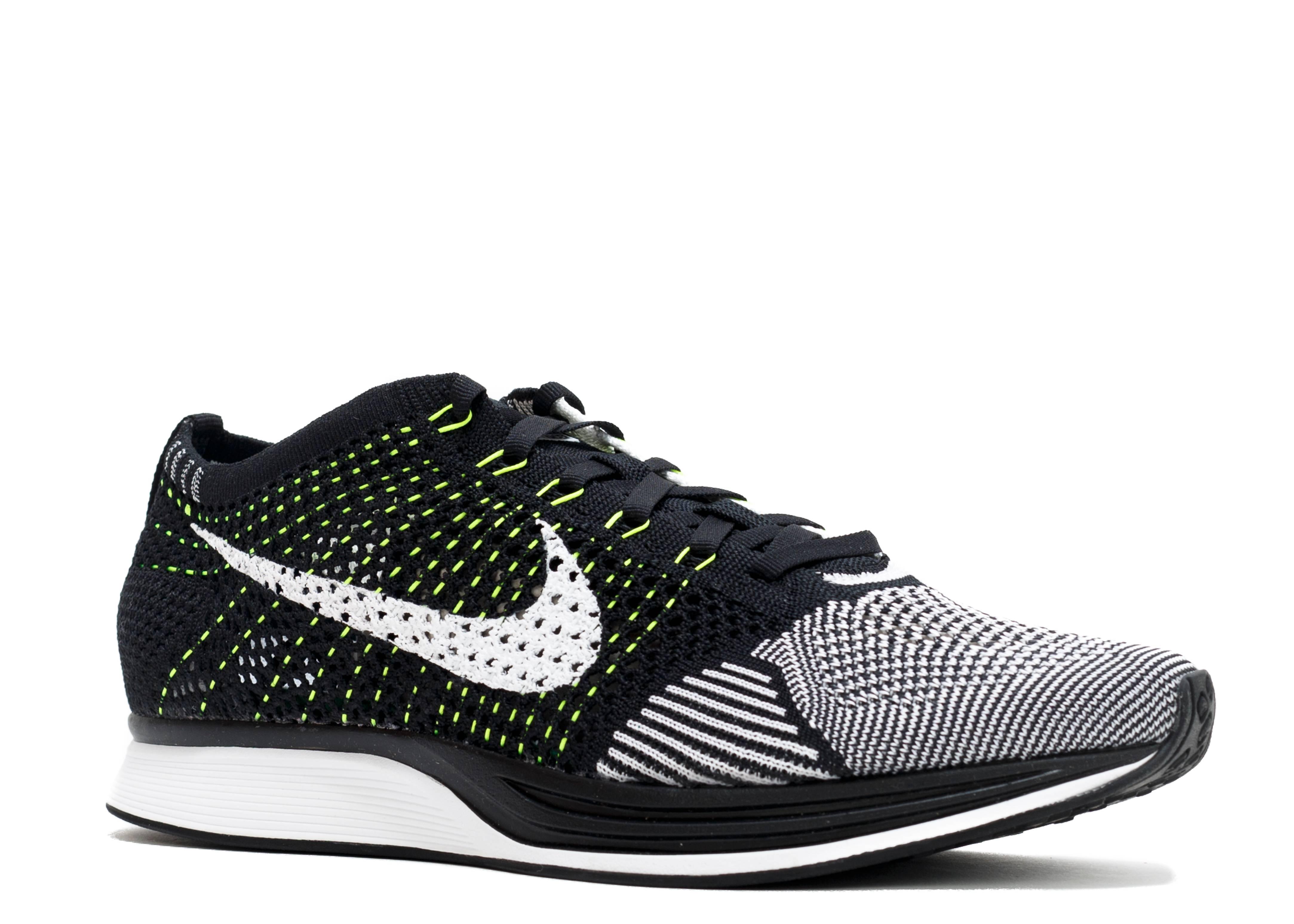 367304756fa88f Nike Flyknit Racer Neon Knit Pants Black