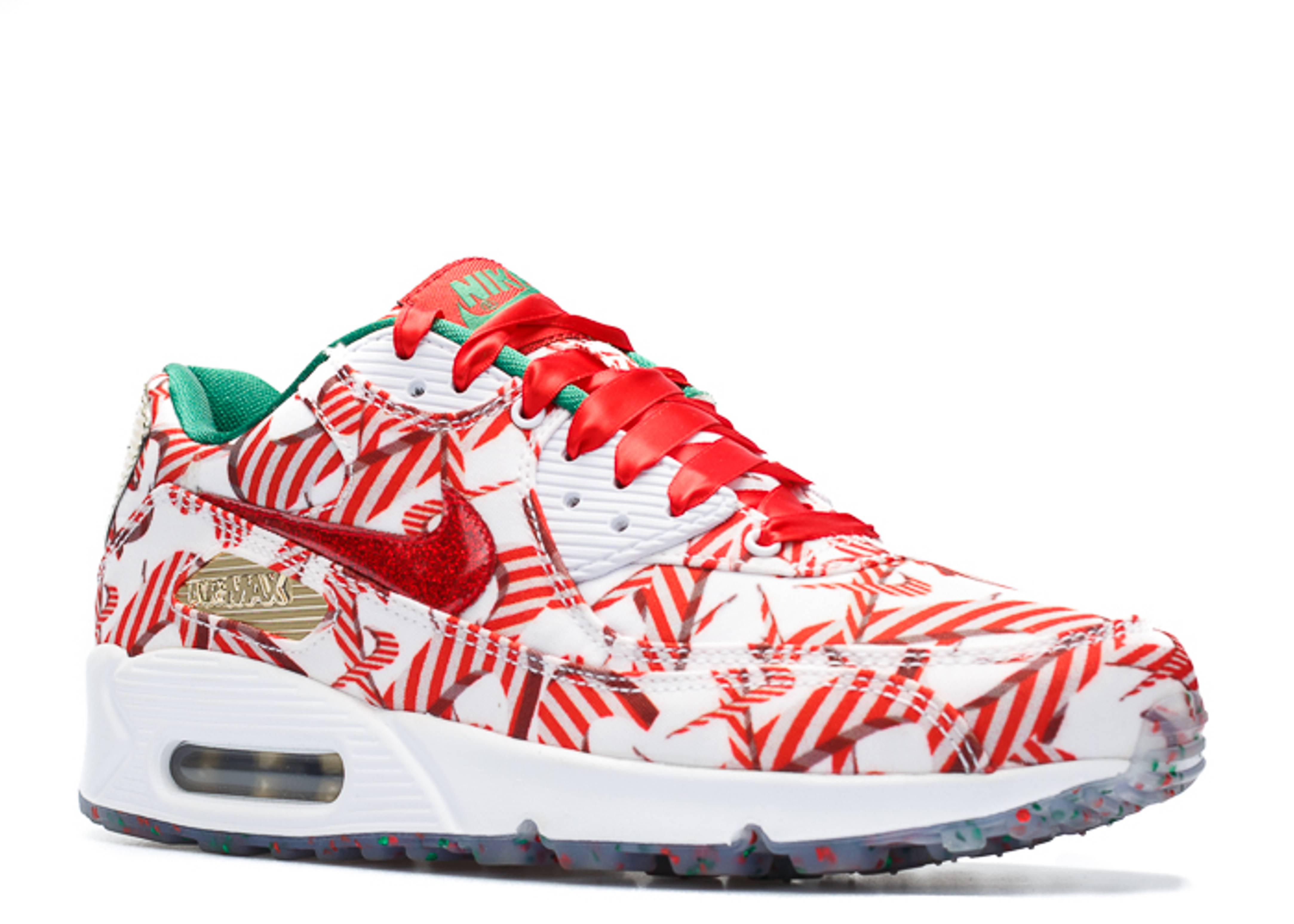 Gift wrapped christmas air max 90s