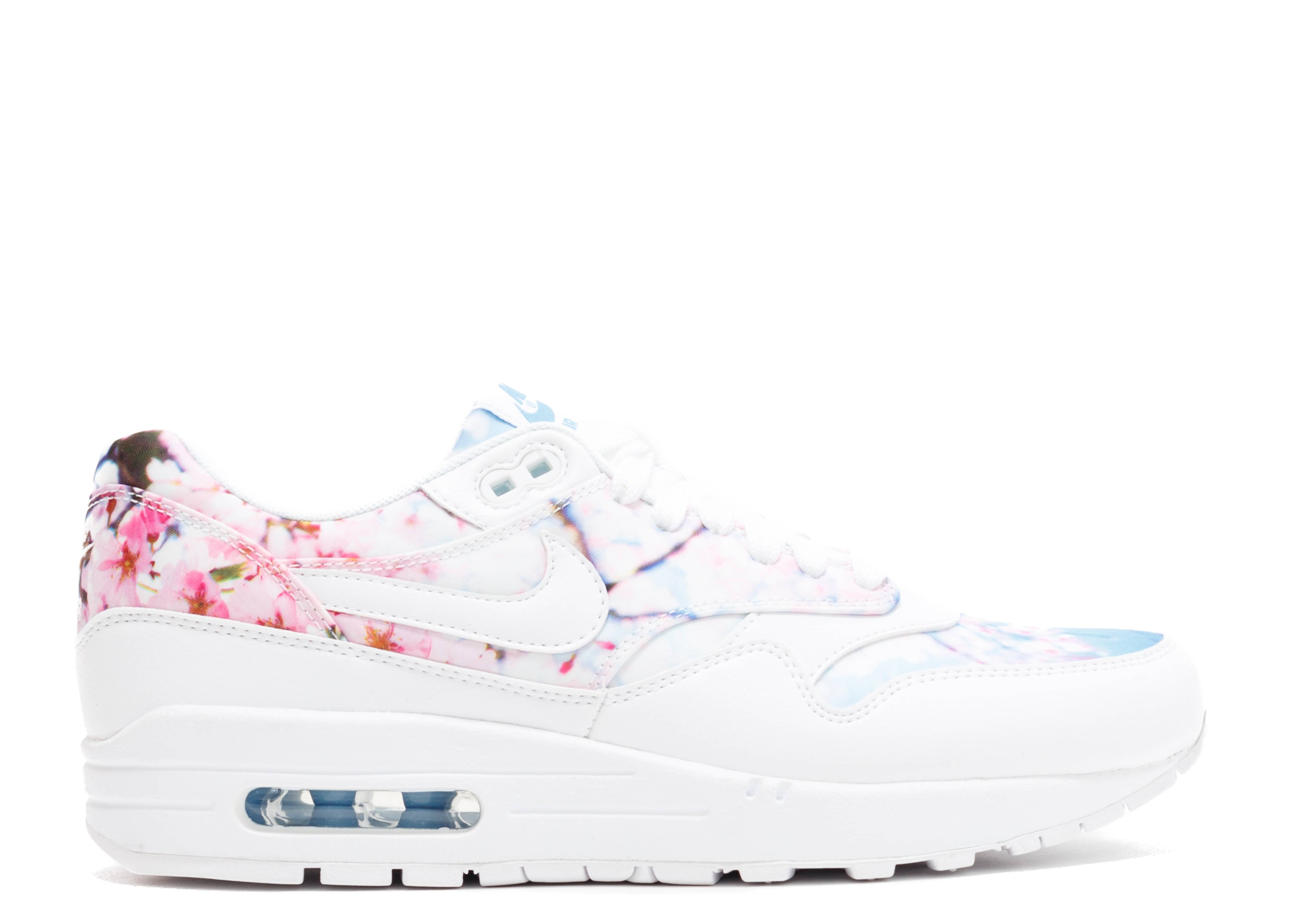 "w's air max 1 print ""cherry blossom"""