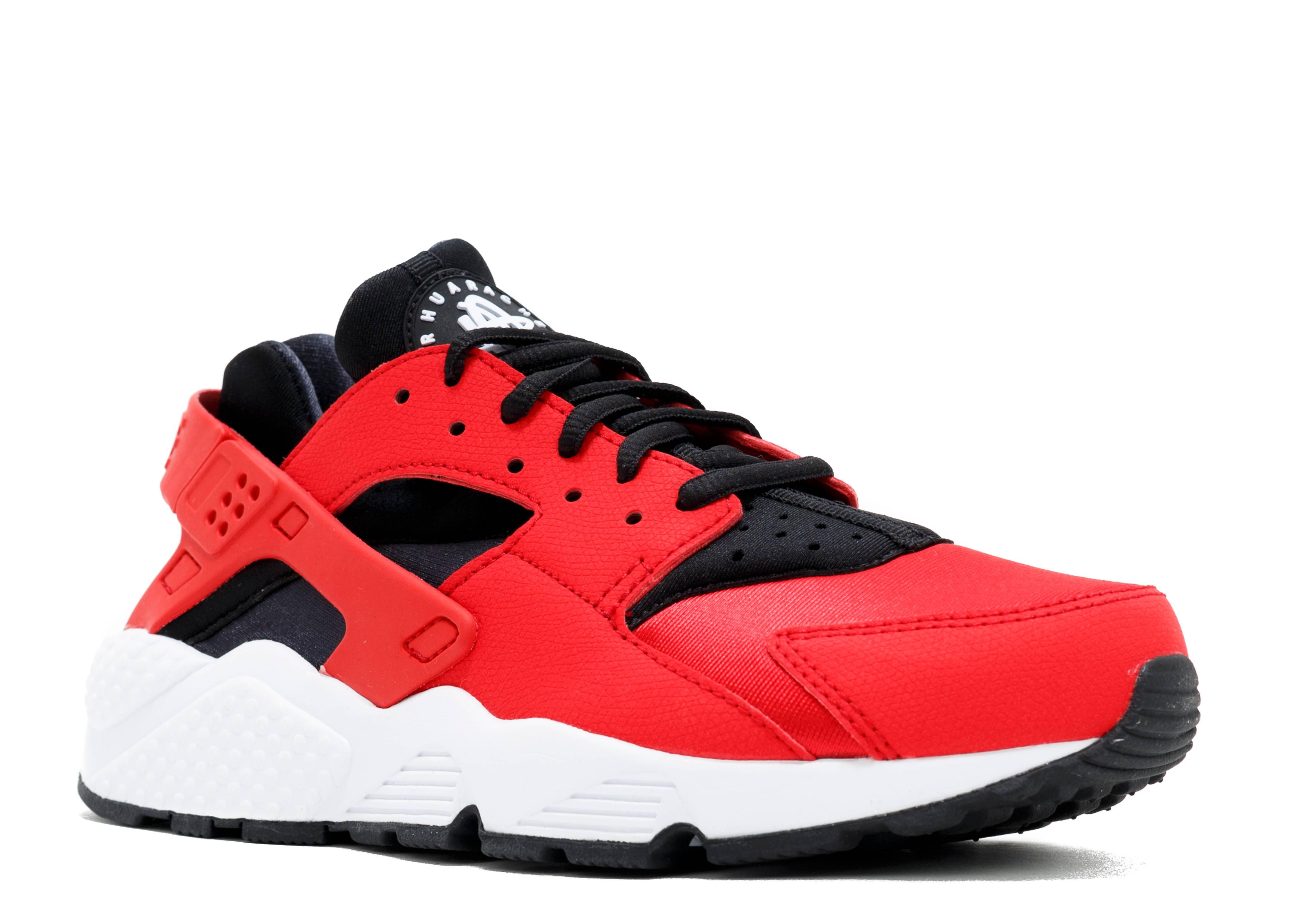 Nike Blazer Haute Huaraches Rouge Universitaires