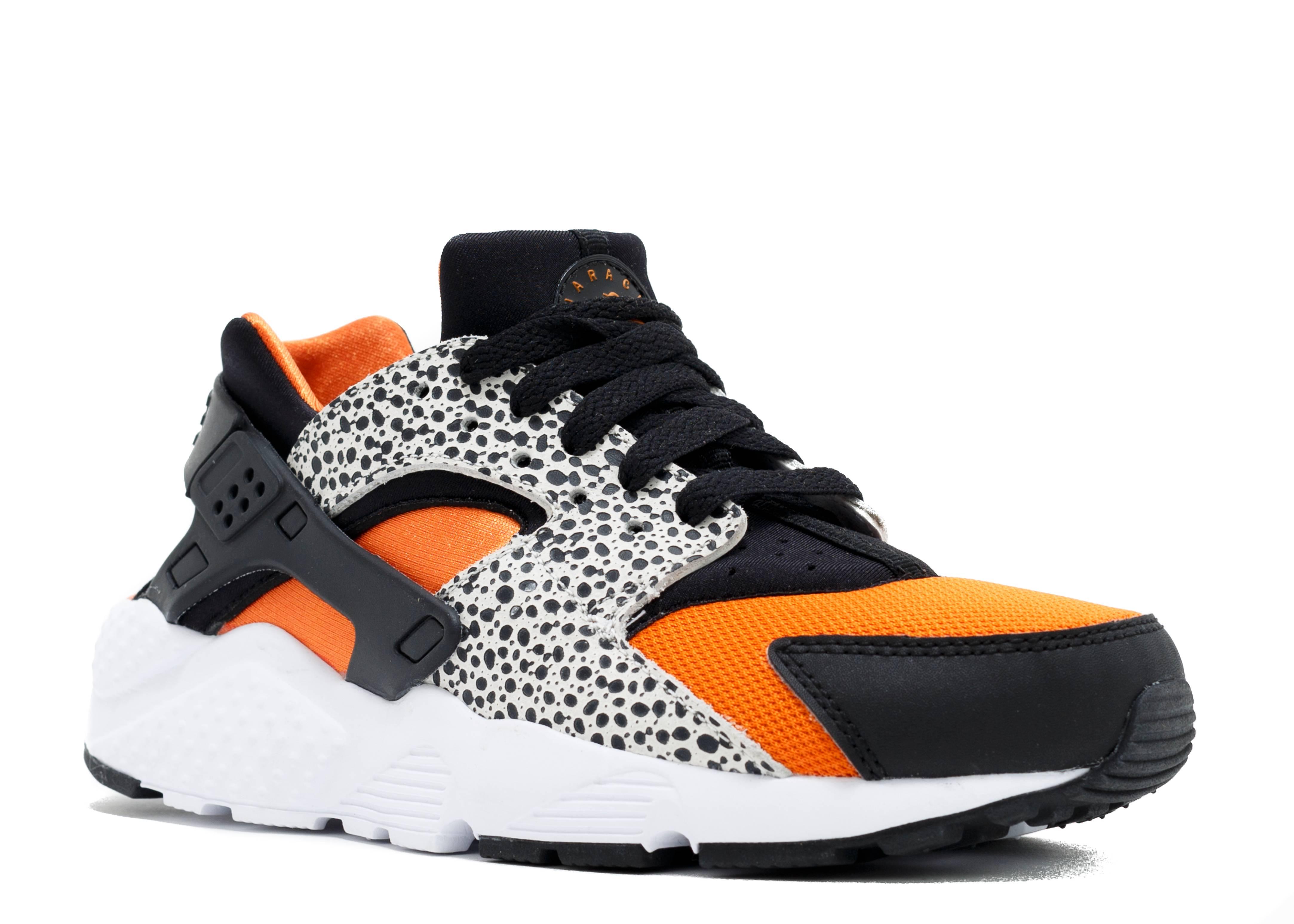 Nike Huarache Run Safari (Gs) Negro jjeBT0DnIh