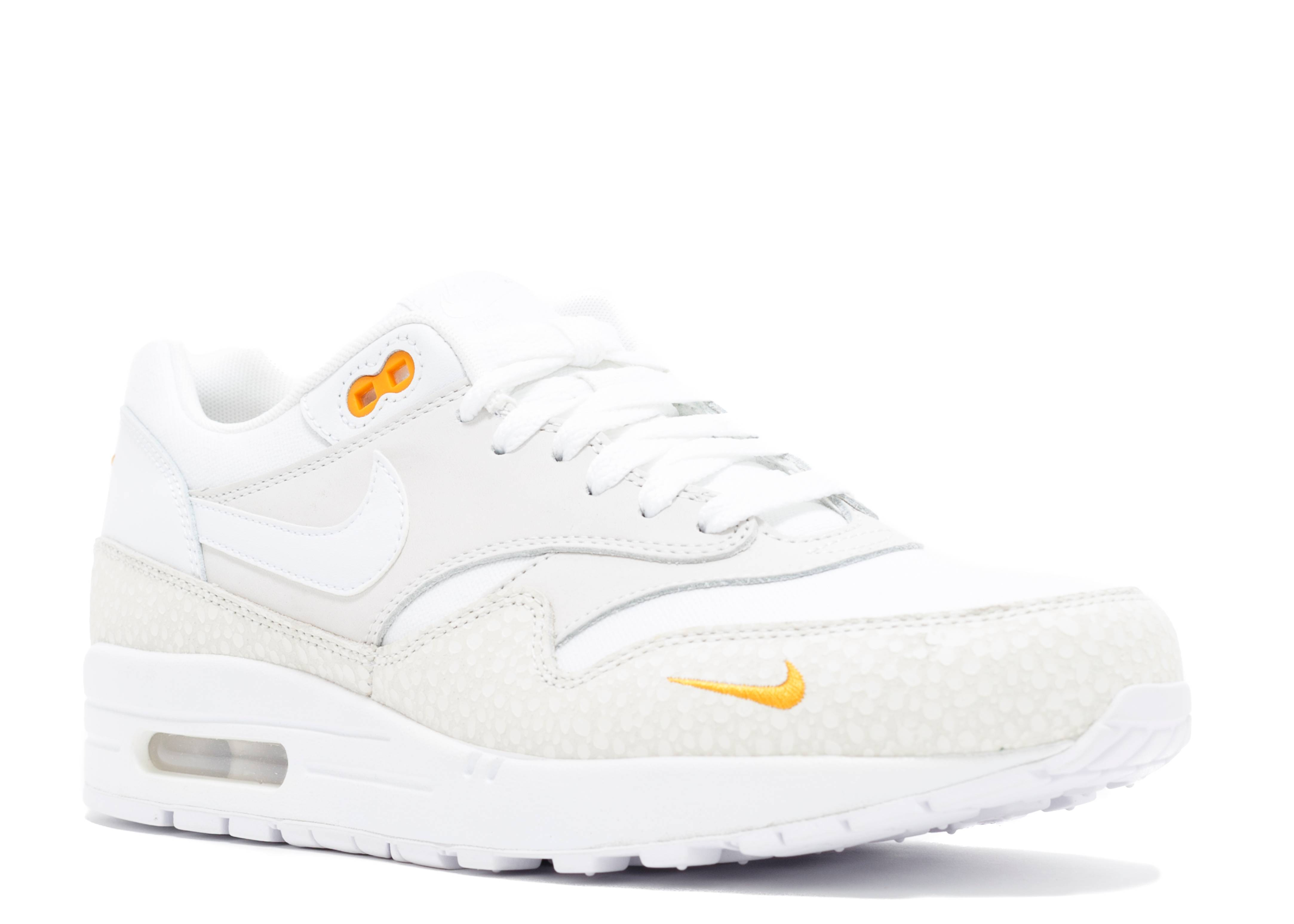 Air Max 1 White Safari