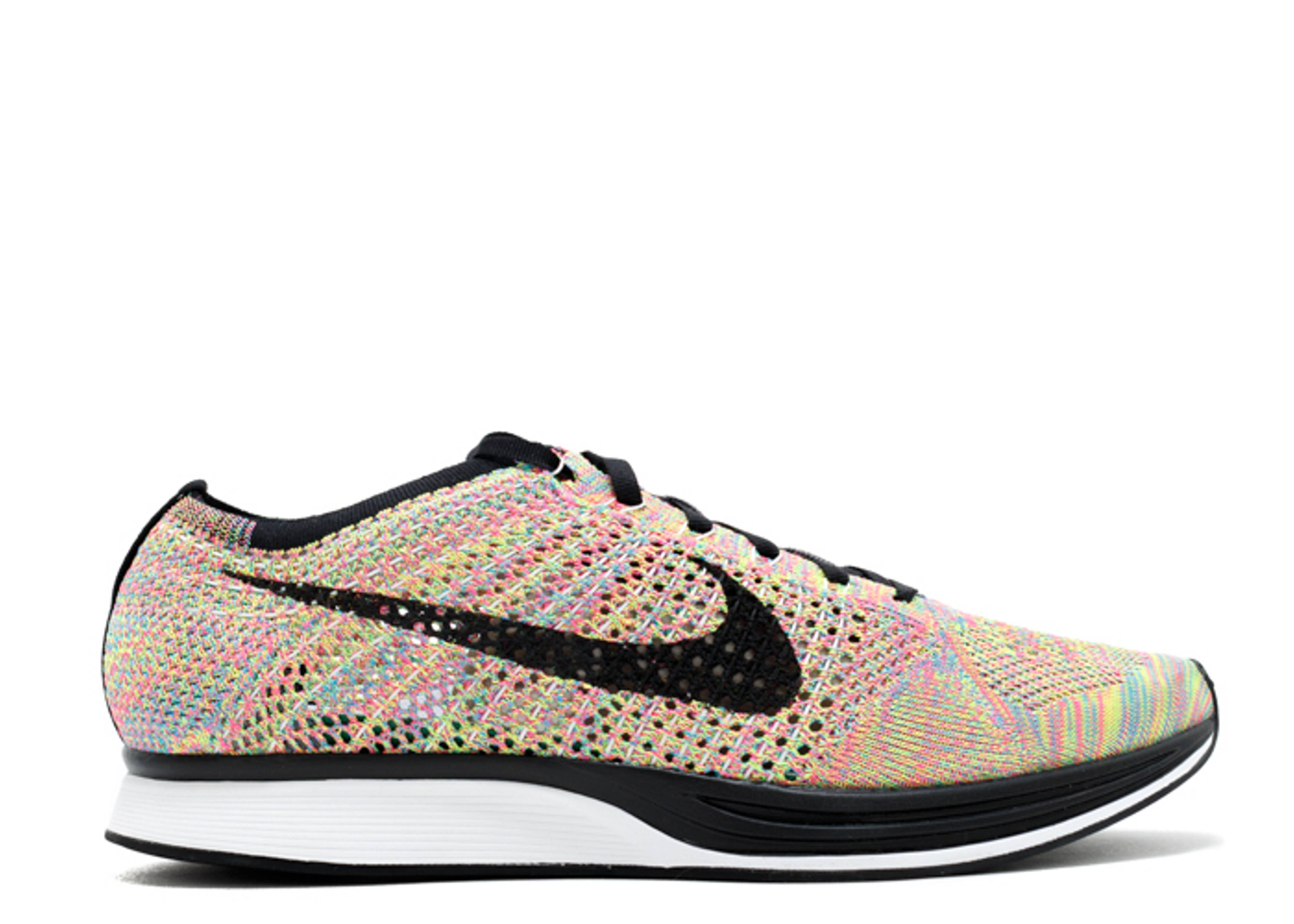 """flyknit racer """"multi-color grey tongue"""""""