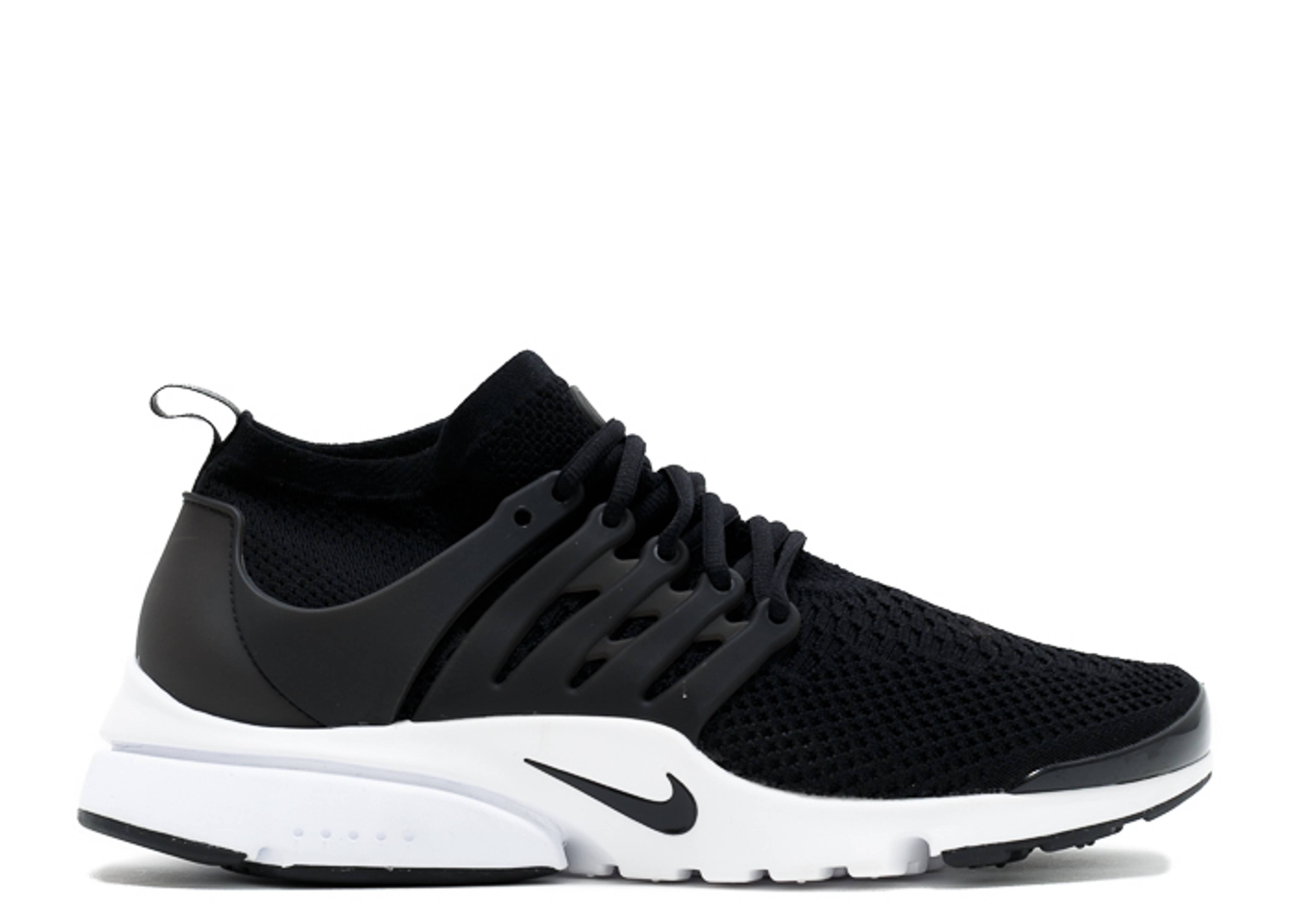 535d64f88151 Air Presto Flyknit Ultra - Nike - 835570 001 - black black-white ...