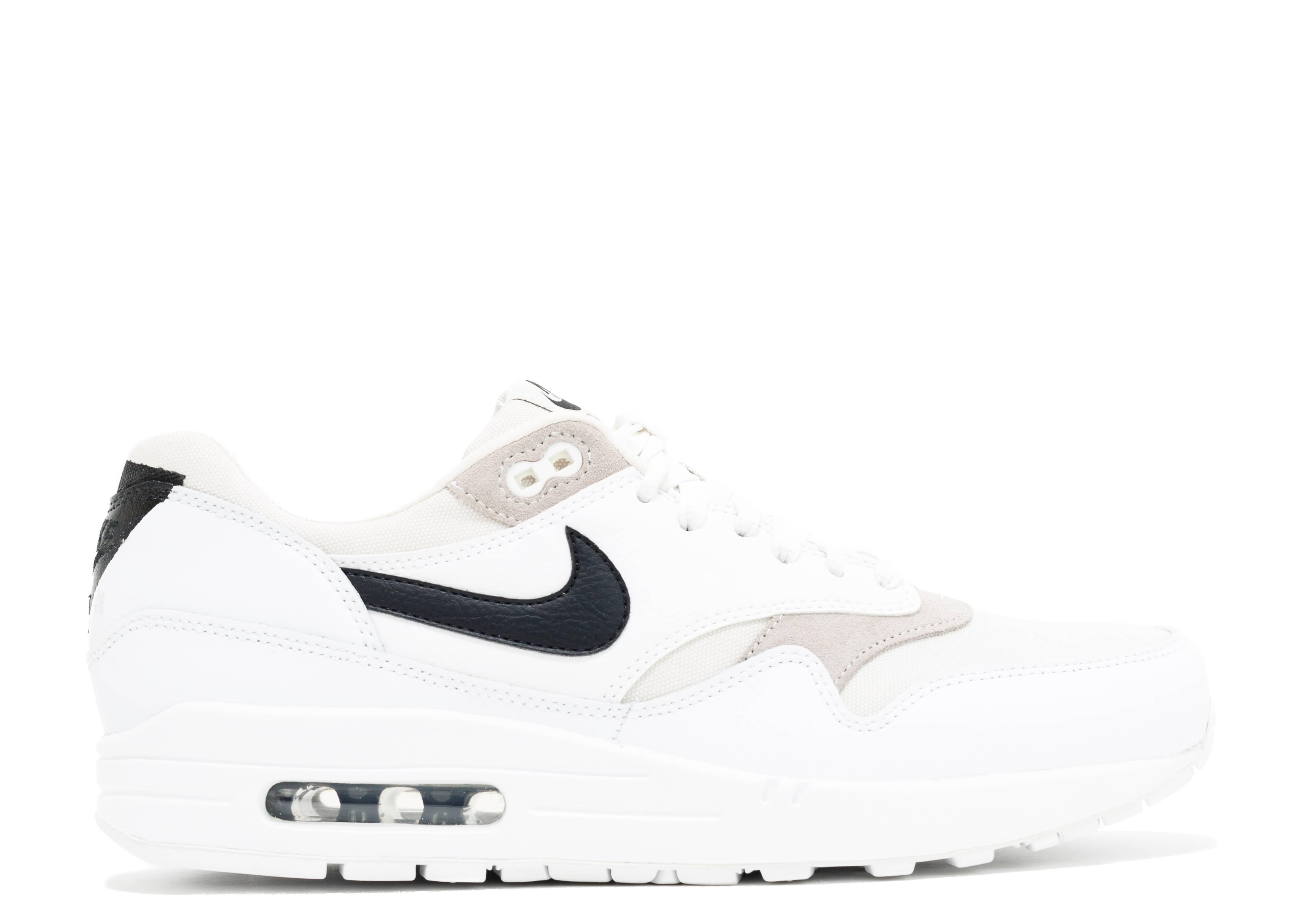 a12aea3e93b Air Max 1 Prm - Nike - 512033 105 - white black-phantom