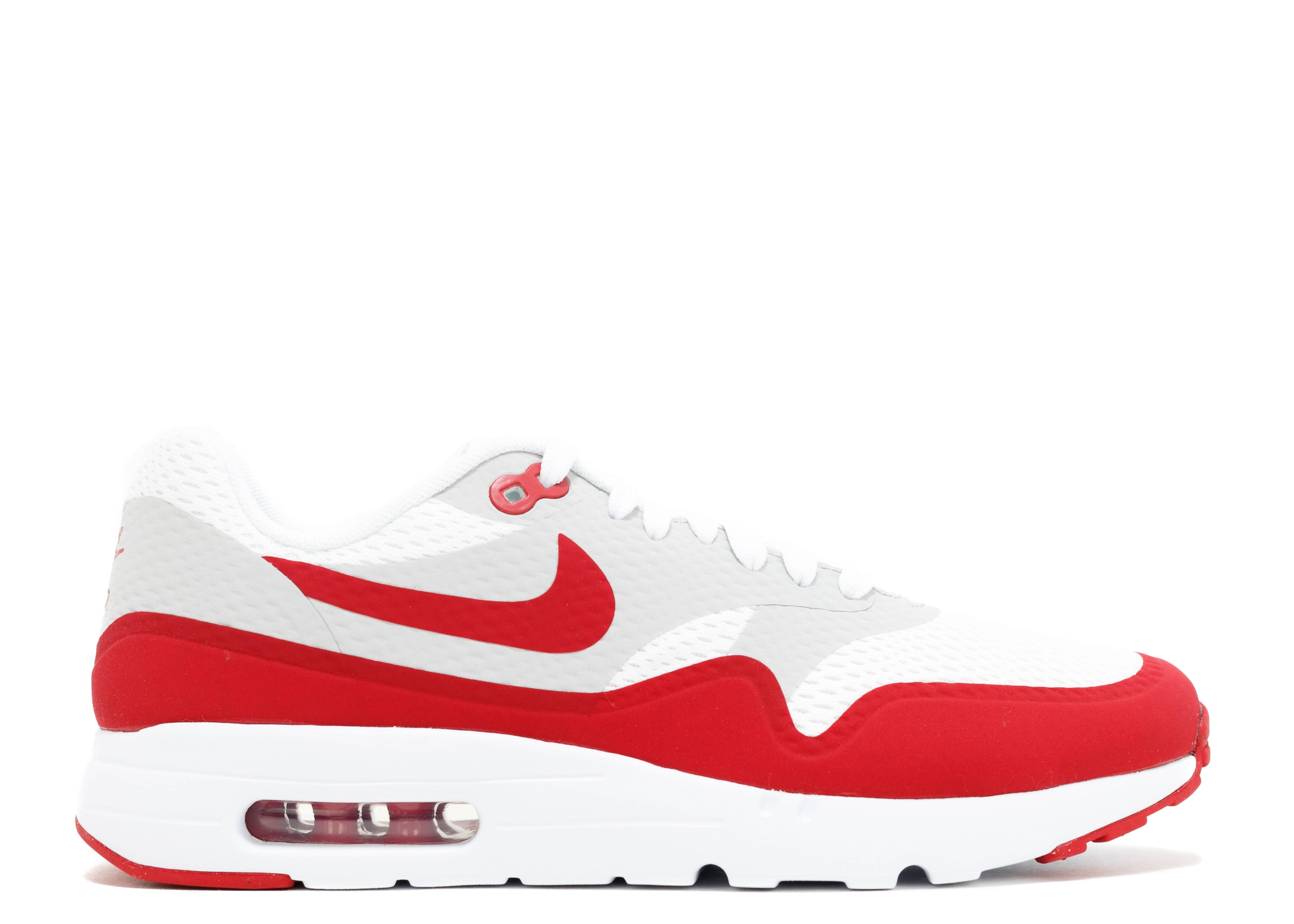 nike air max red white and grey