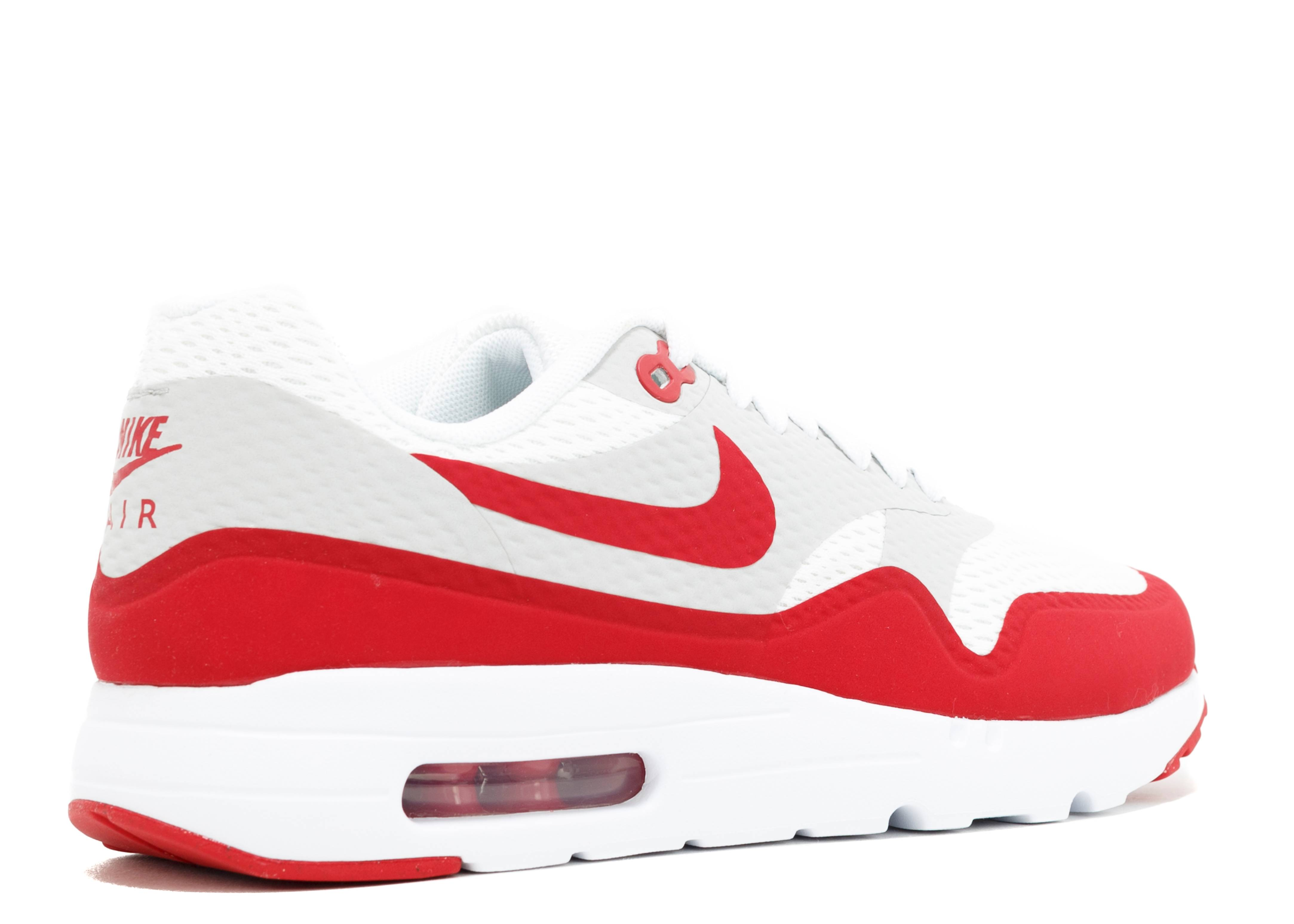 rociar pala mientras  Air Max 1 Ultra Essential 'Varsity Red' - Nike - 819476 106 - white/varsity  red/neutral grey/white | Flight Club