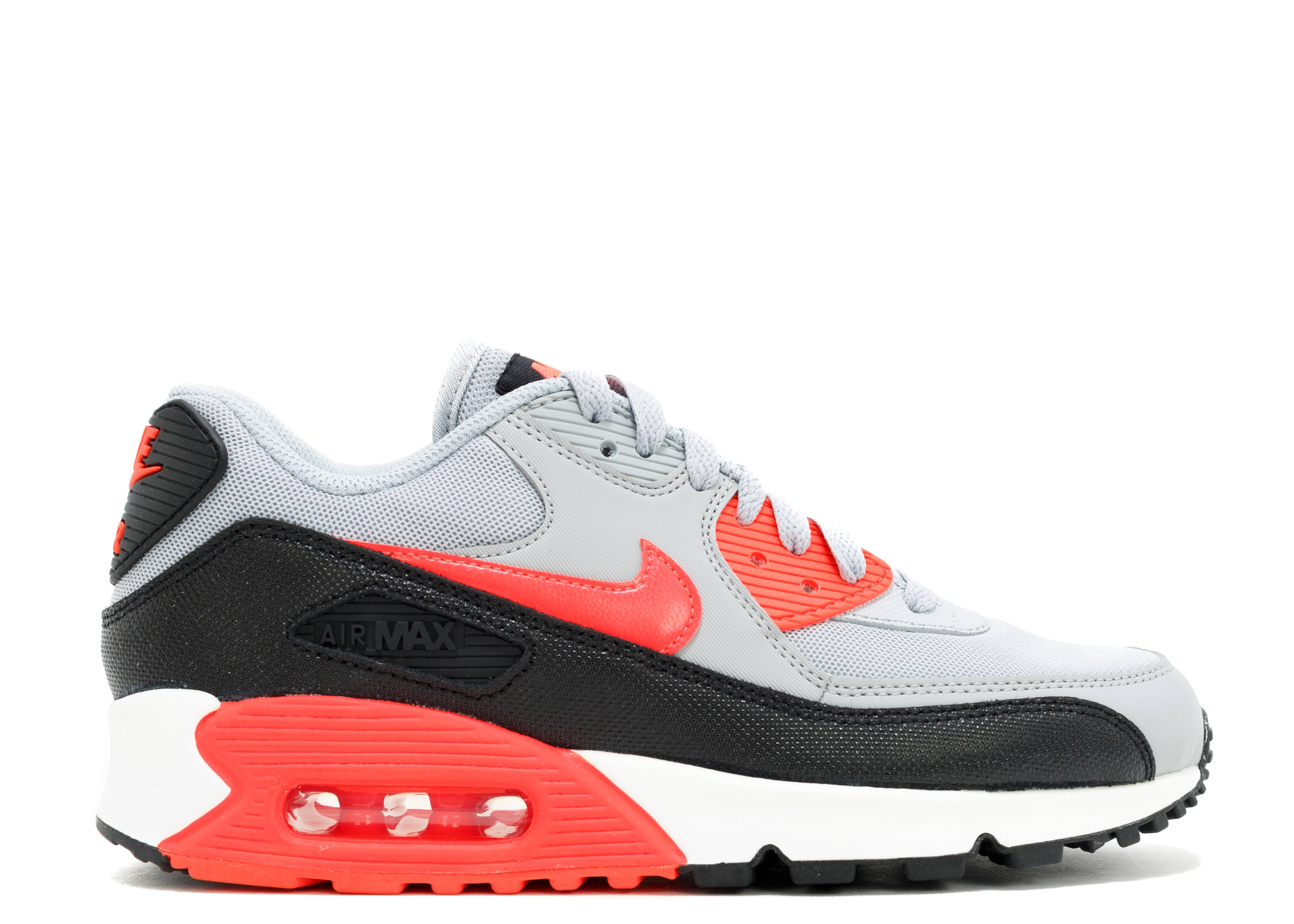d768281d07 W's Air Max 90 Essential - Nike - 616730 014 - wolf grey/infrared ...
