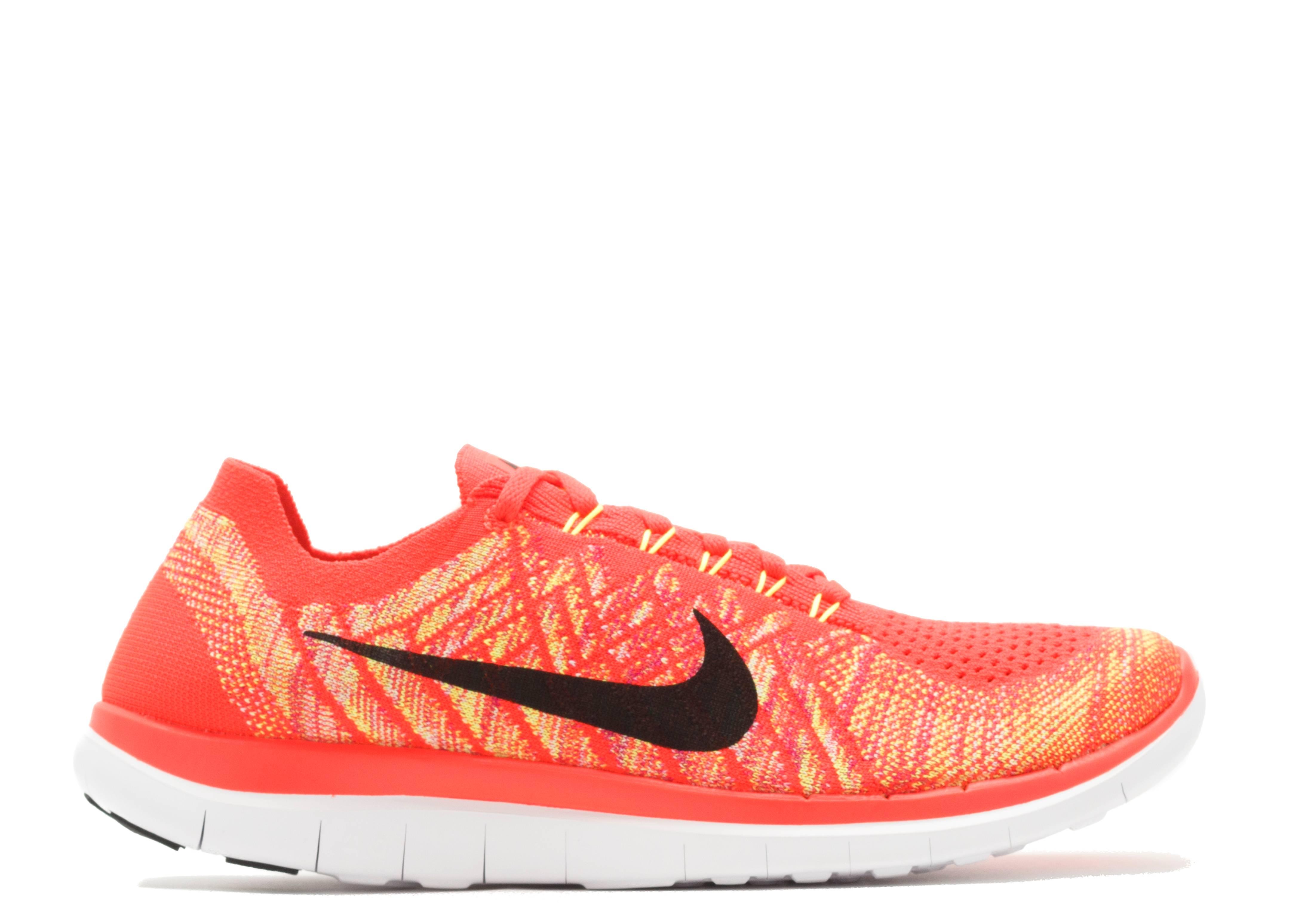 f7895ba3beefe Free 4.0 Flyknit - Nike - 717075 600 - bright crimson black-ht lv-vlt