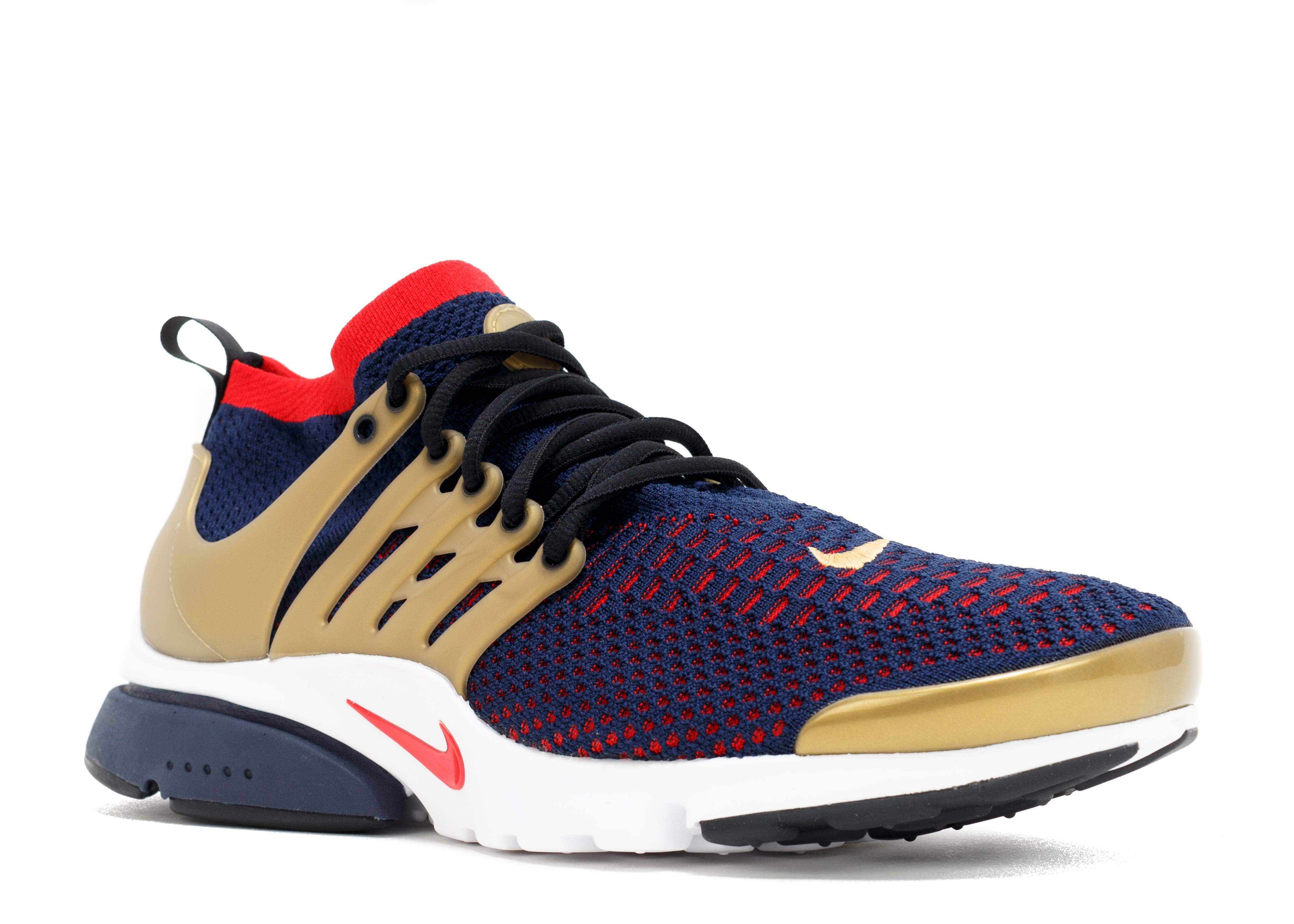 air presto flyknit ultra cllg navy cmt rd mtllc gld wht. Black Bedroom Furniture Sets. Home Design Ideas