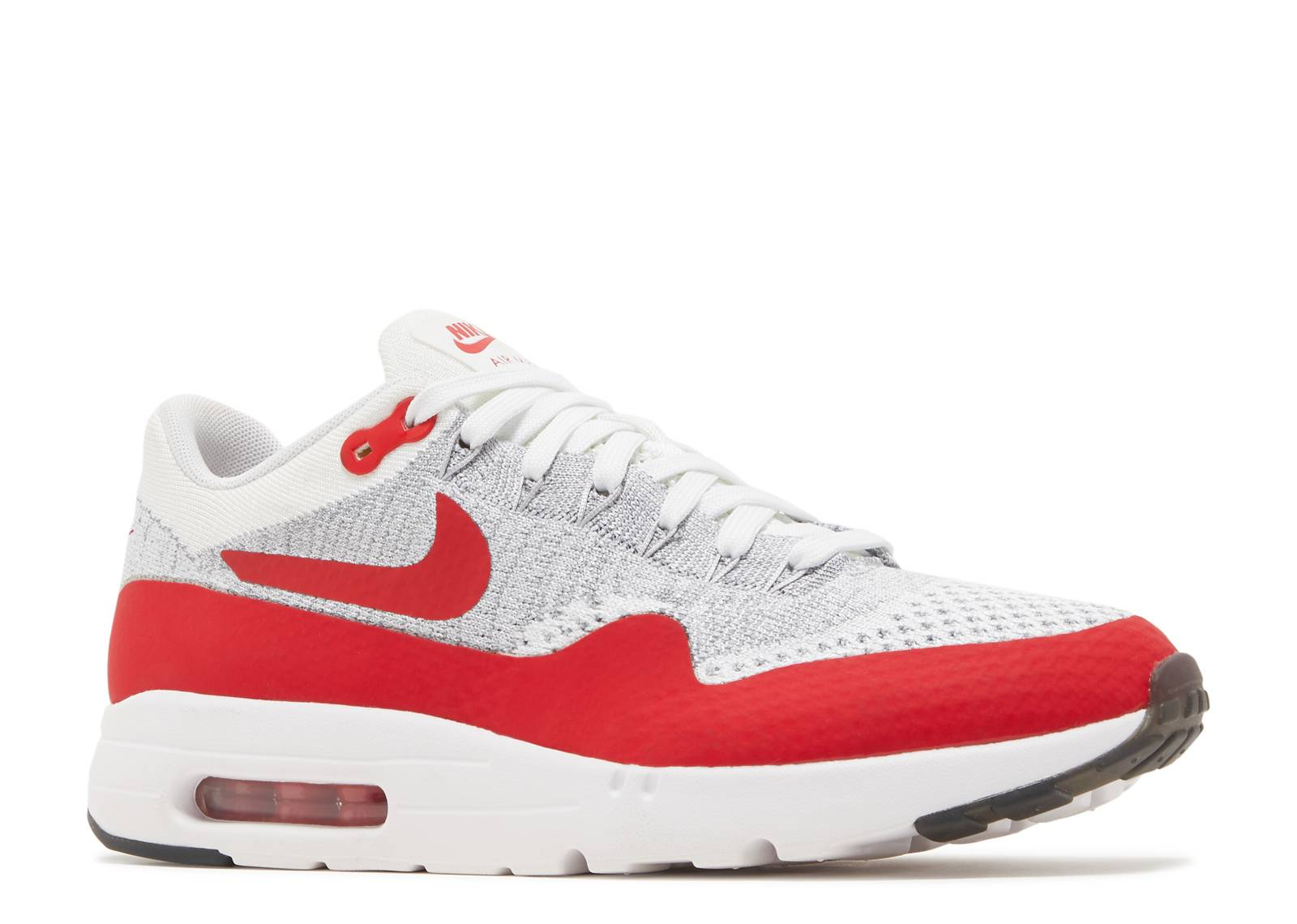 air max 1 ultra flyknit white university red. Black Bedroom Furniture Sets. Home Design Ideas