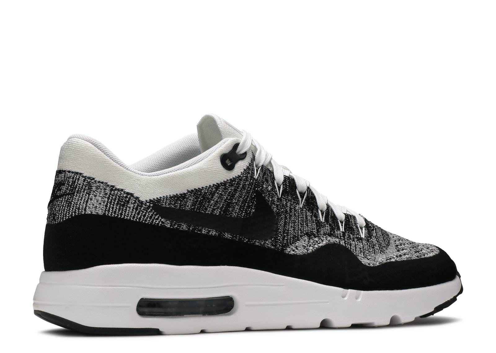 air max 1 ultra flyknit black white