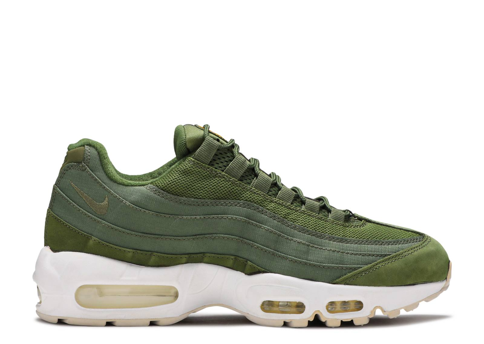 Nike Air Max 95 Essential Stussy X Army Green White 834668 337 TopDeals
