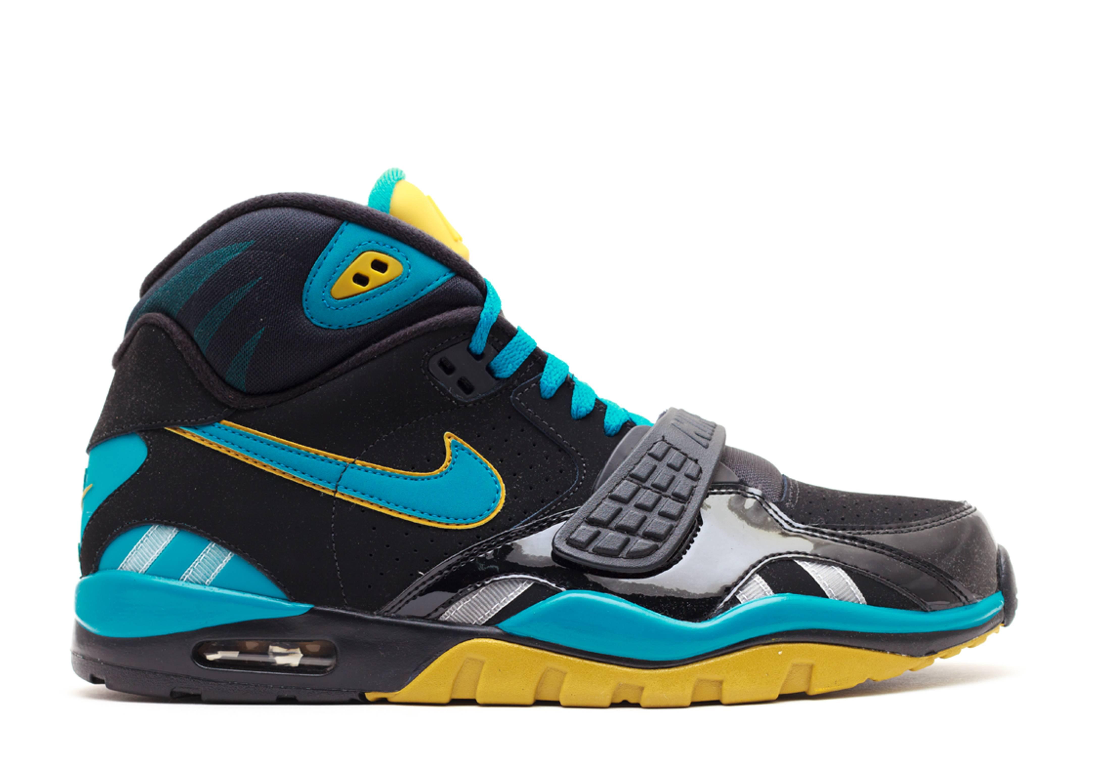 Air Trainer Sc 2 Qs nfl quot;jaguarsquot;  Nike  614640 001  black/blstryoch jacksonville