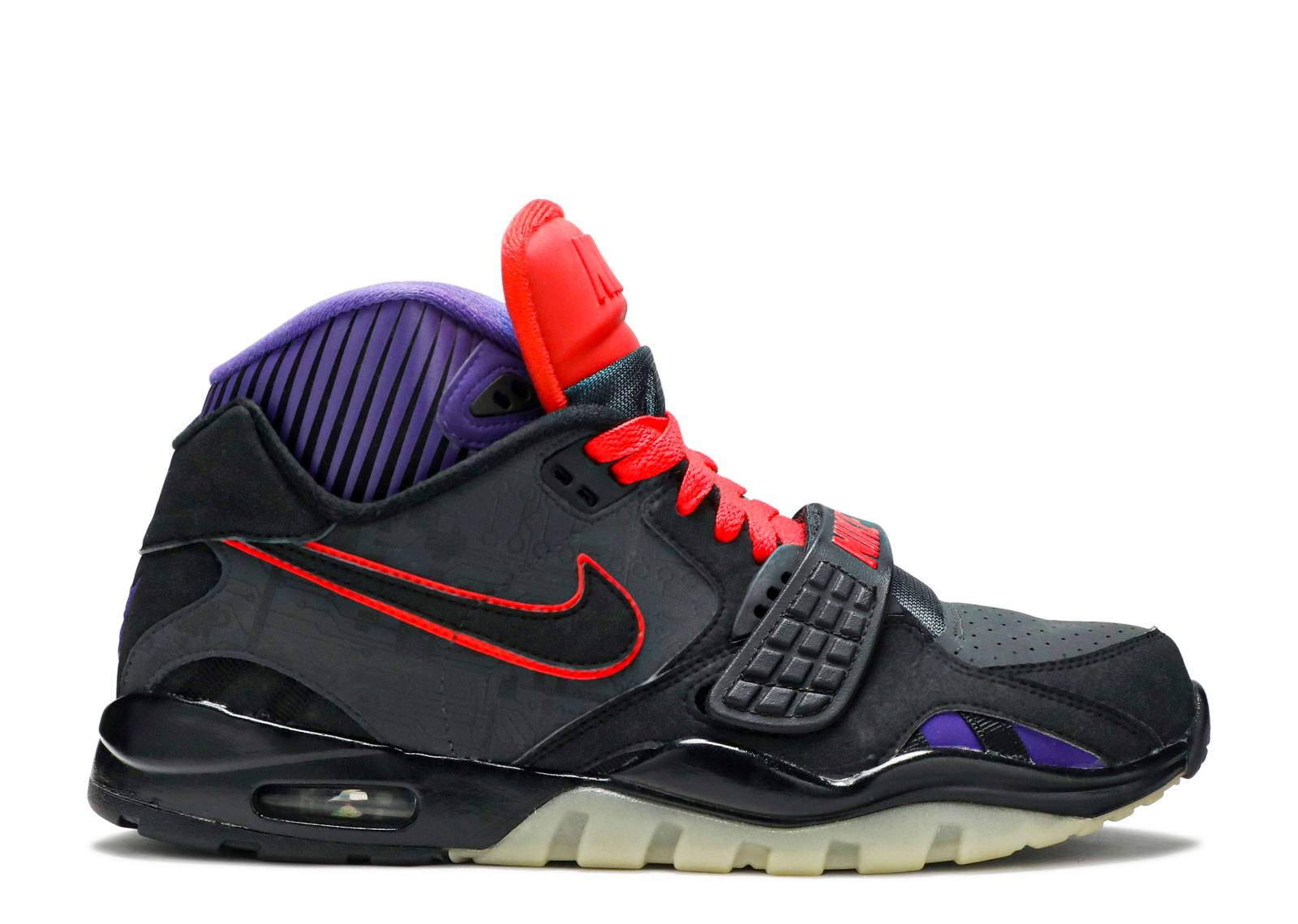 Nike Air Trainer SC 2 II PRM QS Megaton Anthracite Red Purple Nike Air Trainer For Mens and Womens