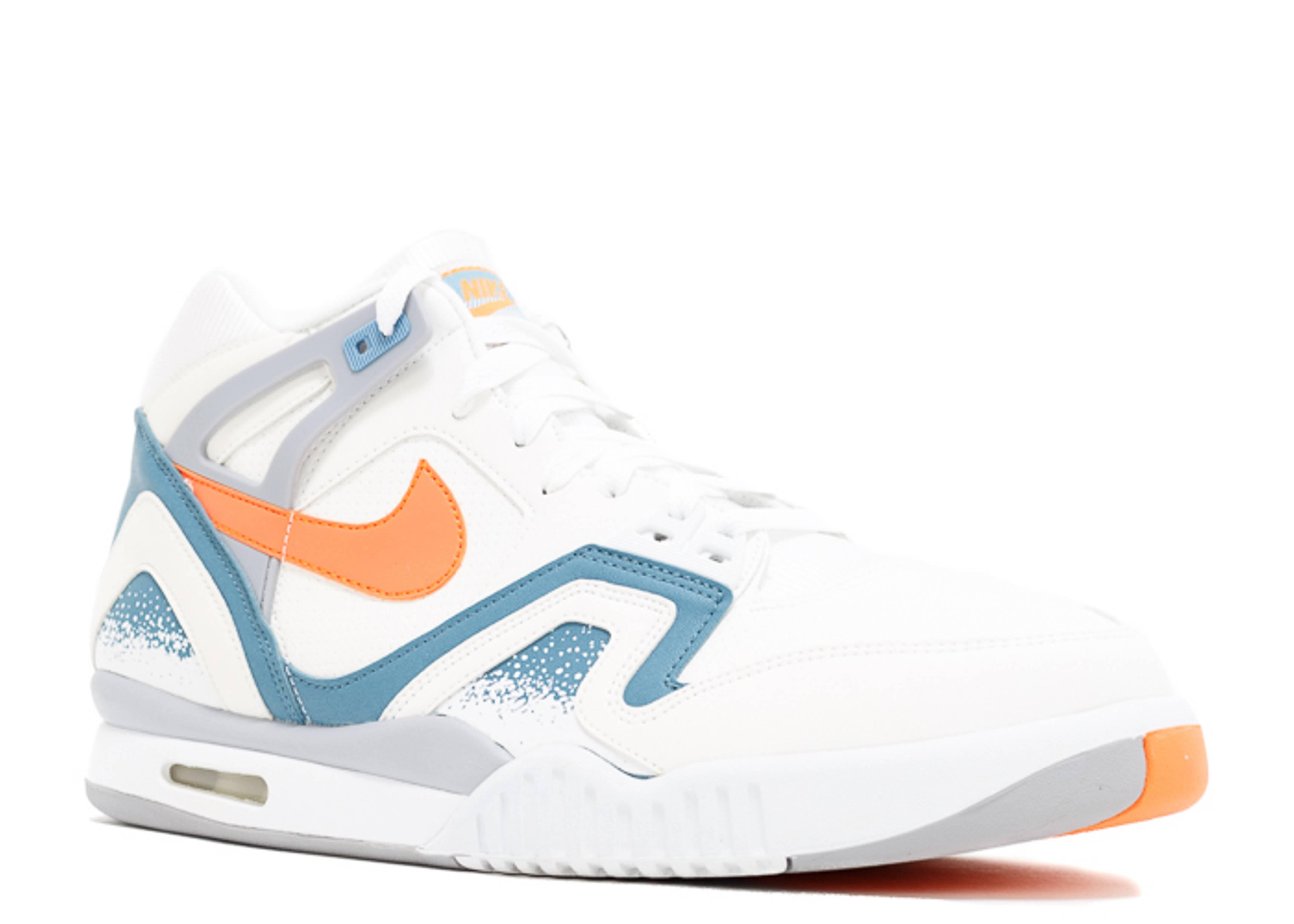 Air Tech Challenge 2 Clay Blue Nike 643089 184 White Orange Burst Clay Blue Flat Silver Flight Club