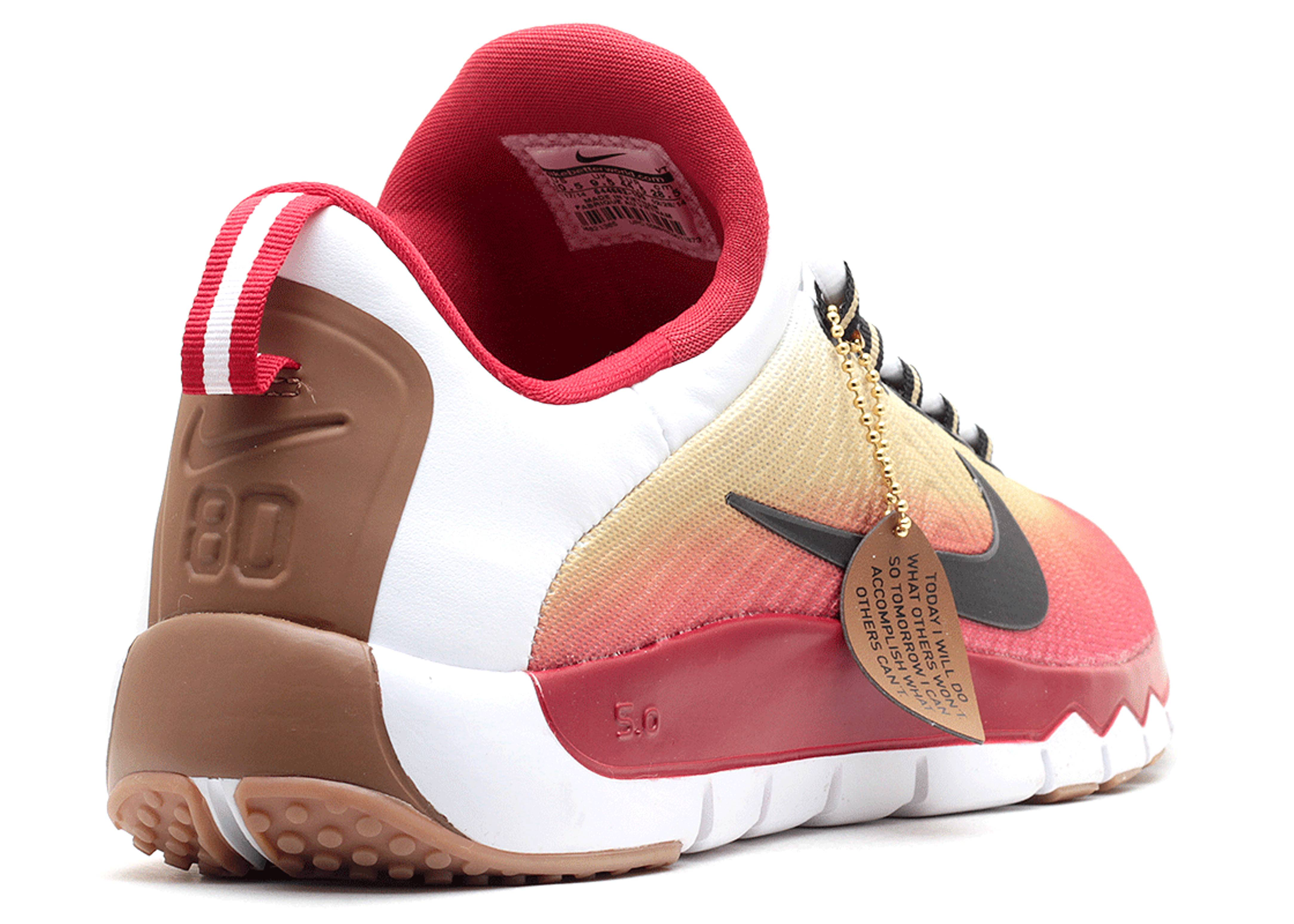 best loved 77585 4bf01 Nike Free Trainer 5.0 49ers