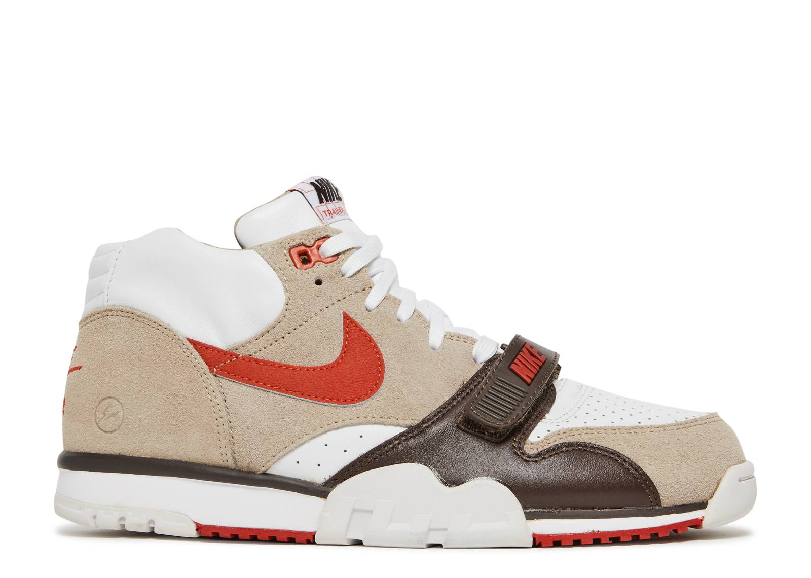 low priced 10105 ef39b nike. air trainer 1 mid sp fragment