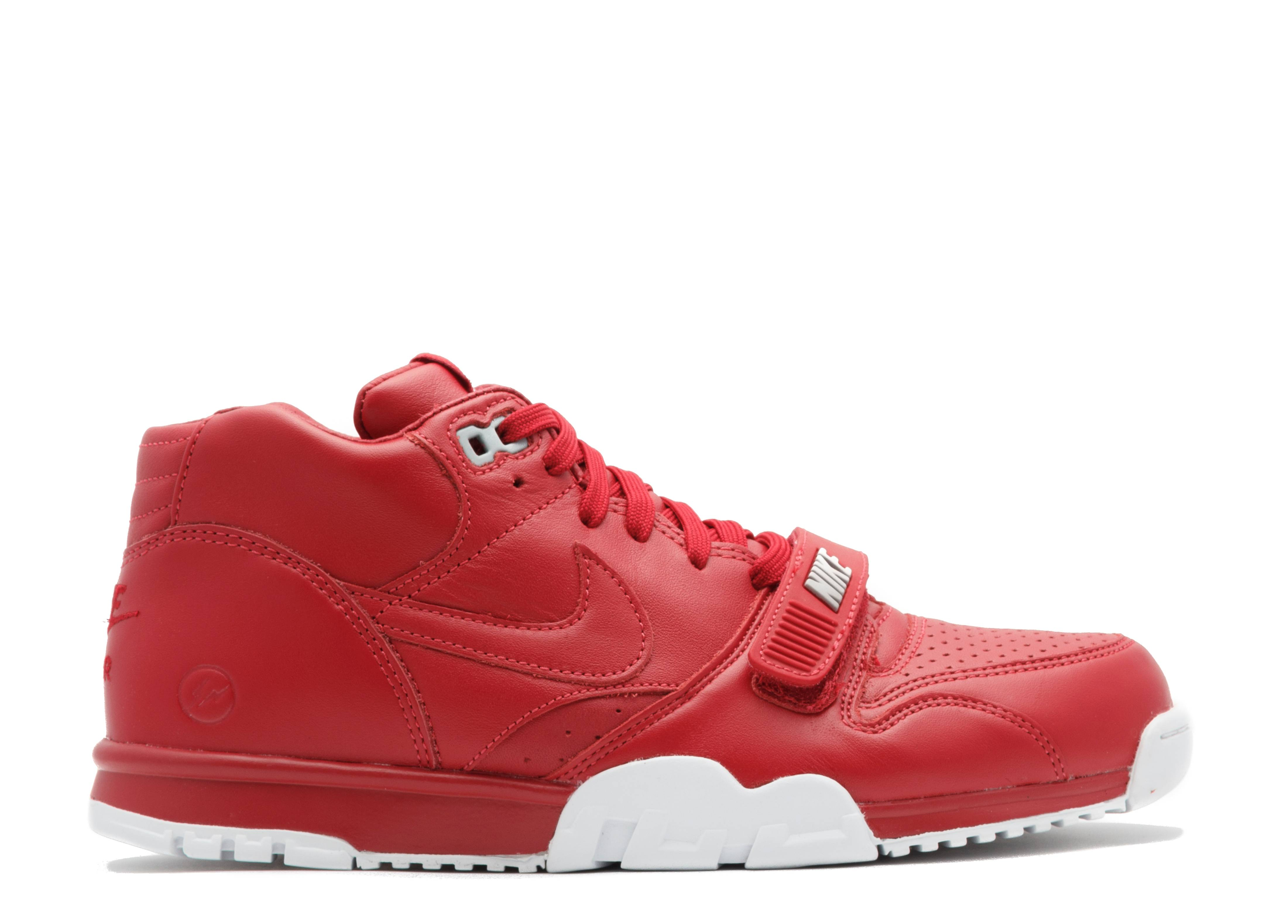 big sale 0e2dc 6e7bf Air Trainer 1 Mid Sp fragment - Nike - 806942 661 - gym red gym red-white    Flight Club