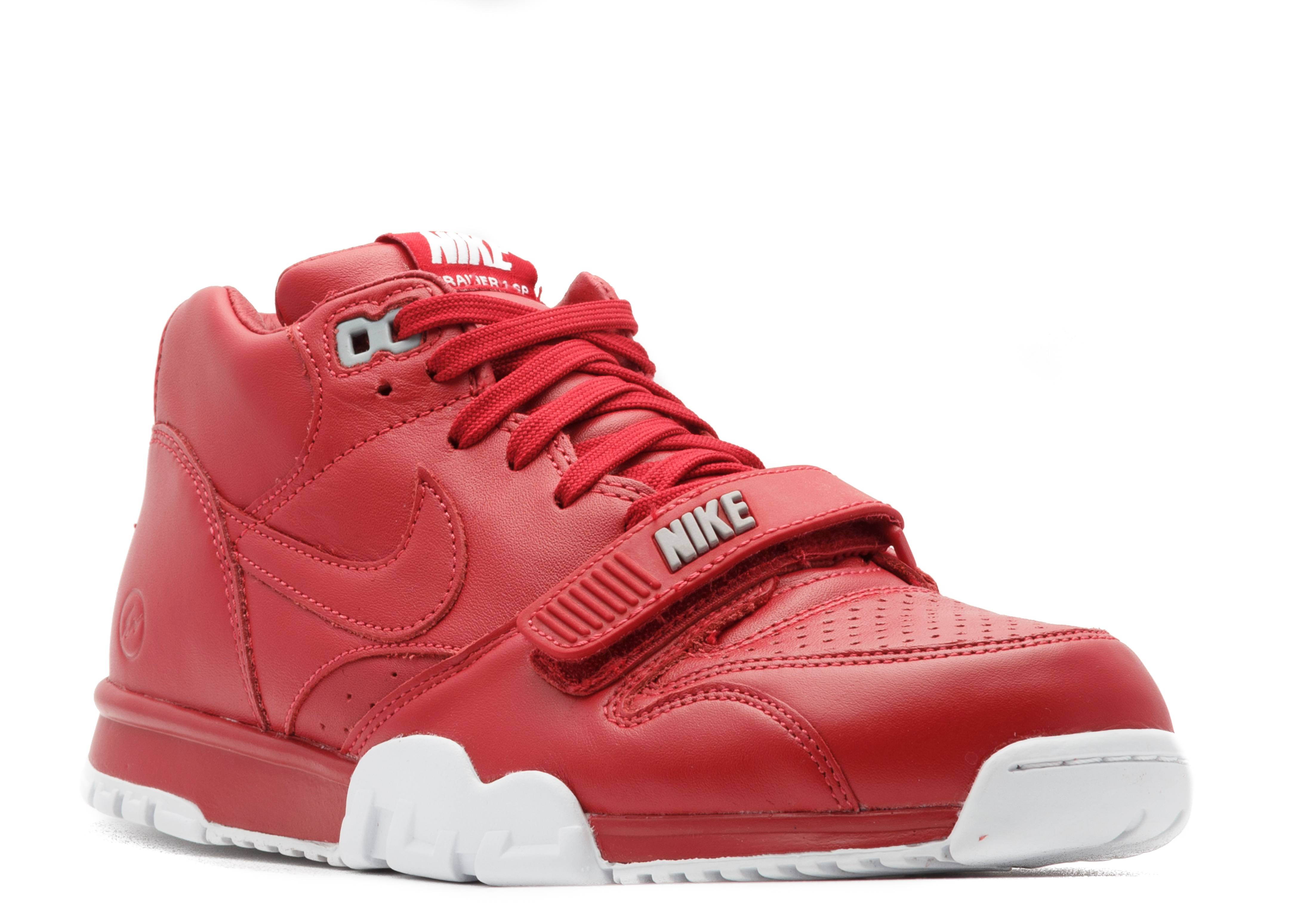 air trainer 1 mid sp/fragment - gym red/gym red-white - Nike | Flight Club