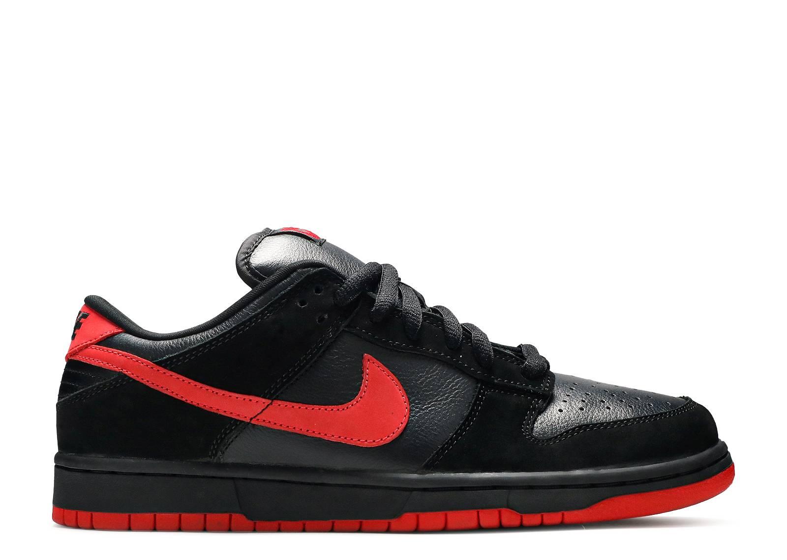 new product da0c9 3babc Dunk Low Pro Sb - Nike - 304292 061 - blacktrue red  Flight