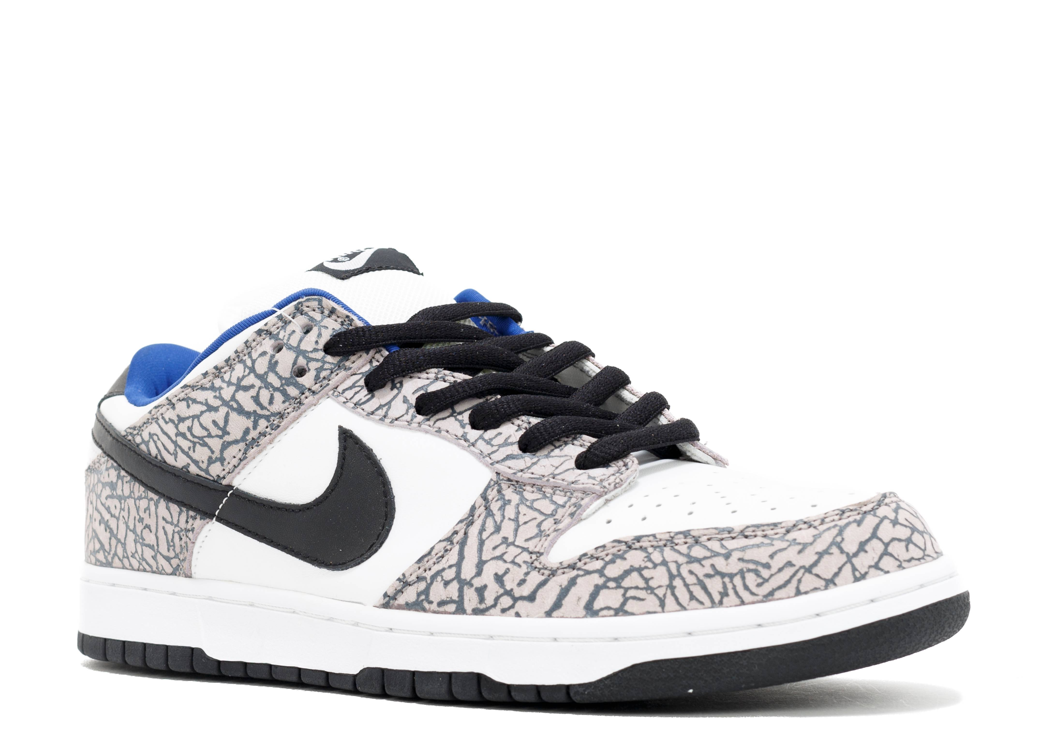 online store 80d3f d2b0c nike dunk low white and cement shoes black women