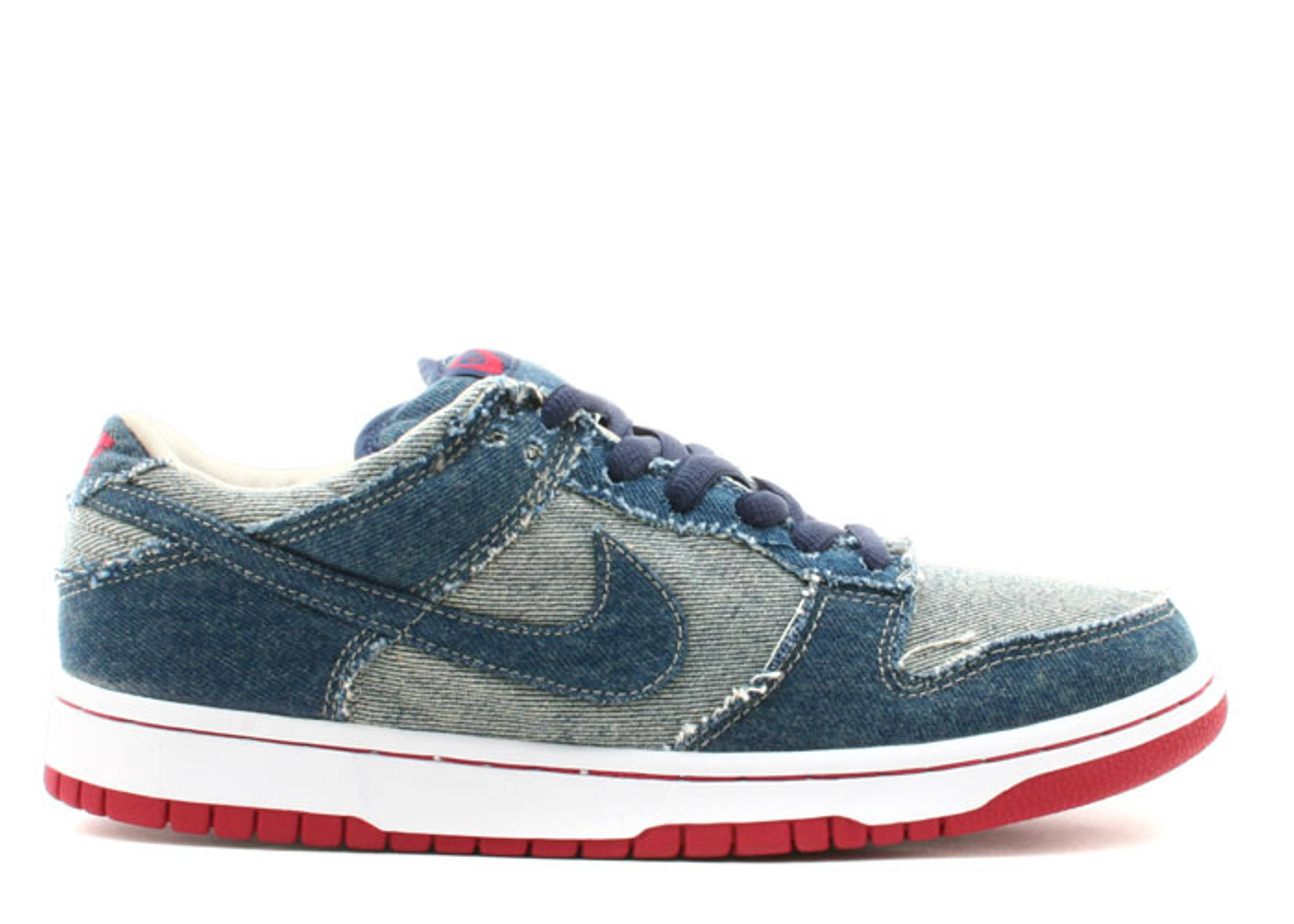 304292441 Nike Dunk Low Pro Sb DenimSkateboarding Shoes New Year Deals