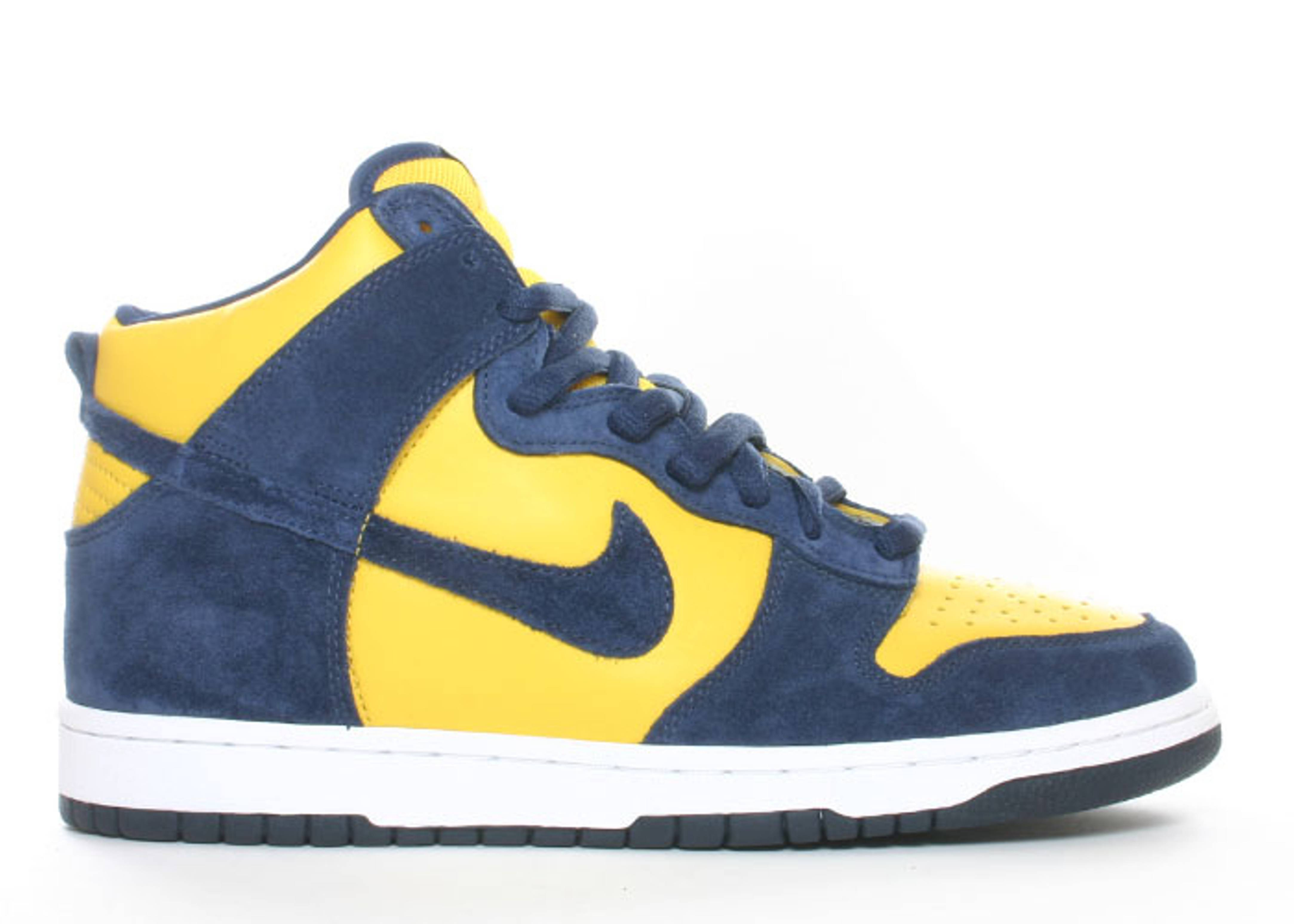 "dunk high pro sb ""michigan"""
