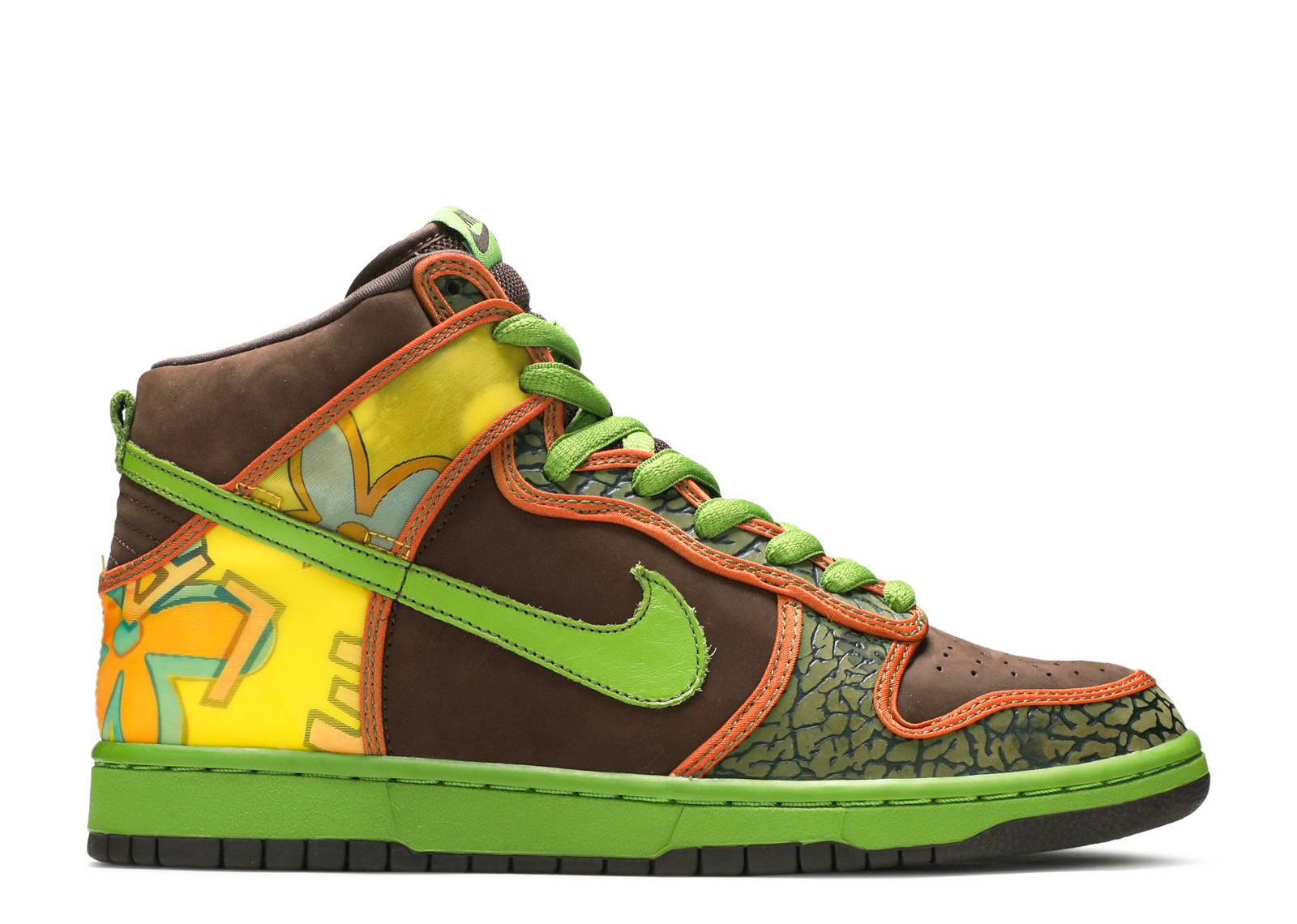 dunk high pro sb de la soul nike 305050 231. Black Bedroom Furniture Sets. Home Design Ideas