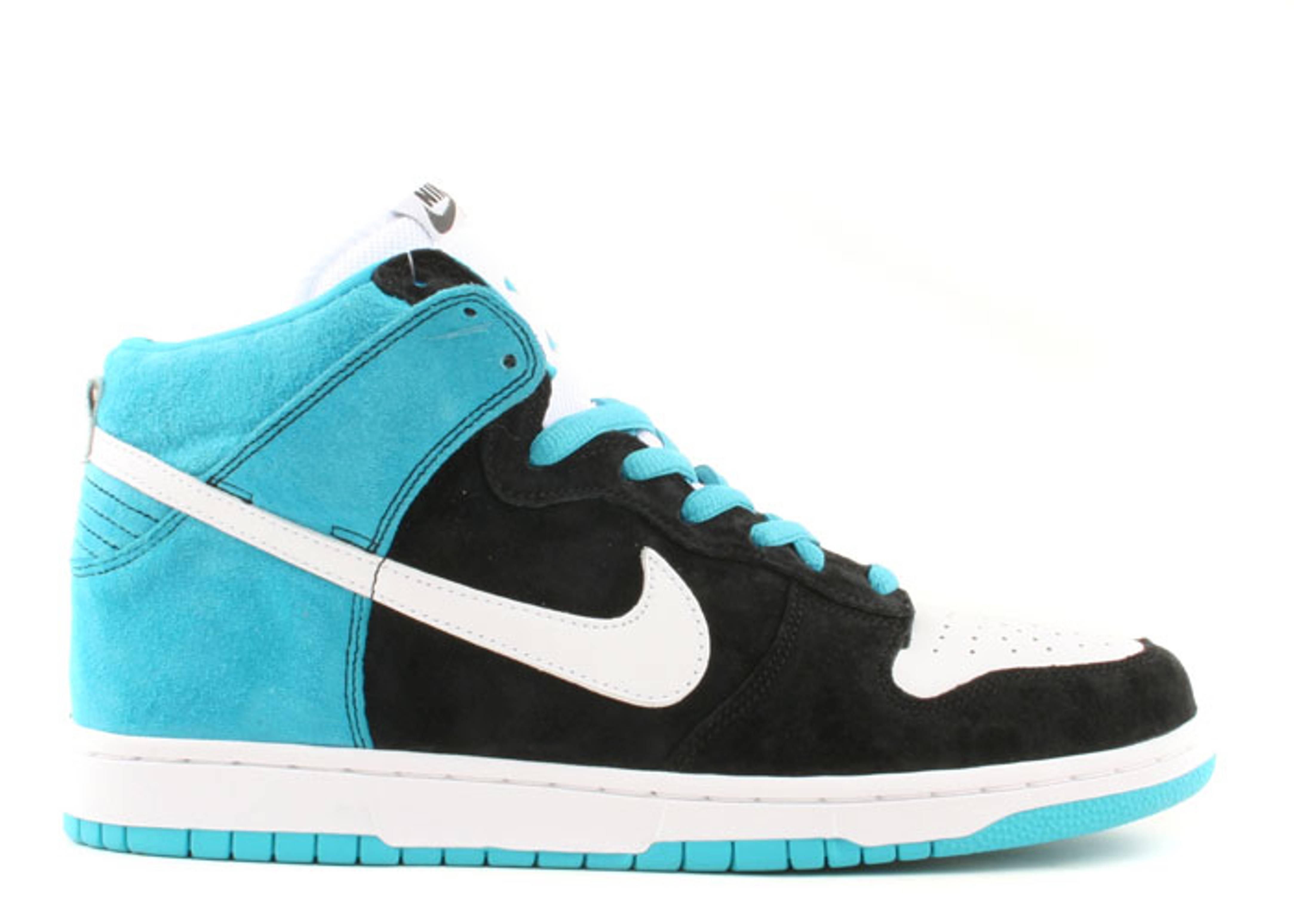 Nike Dunk High SB Send Help Black Purple White Shoes
