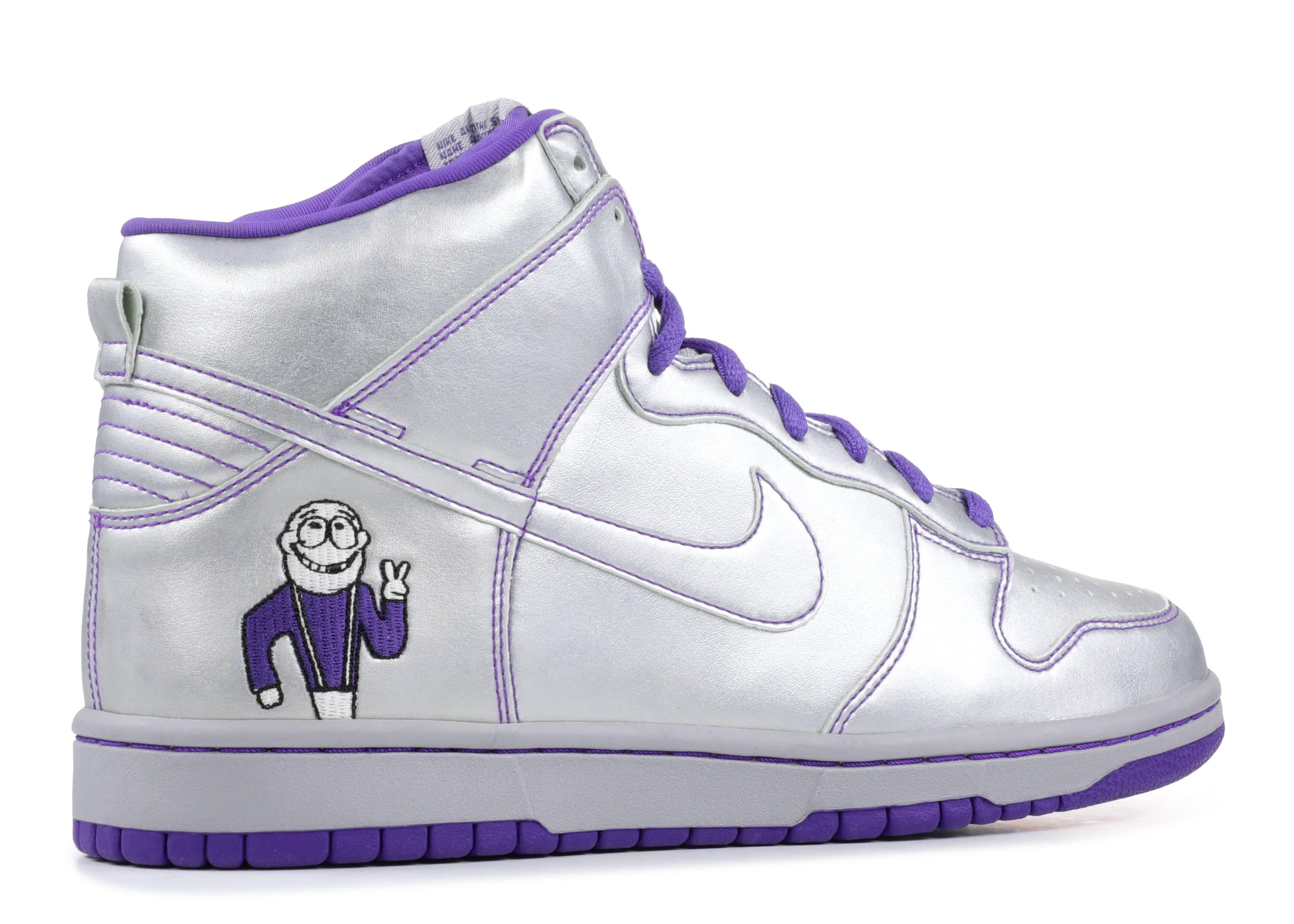 Dunk High Premium SB 'Dinosaur Jr' - Nike - 313171 003 - metallic ...
