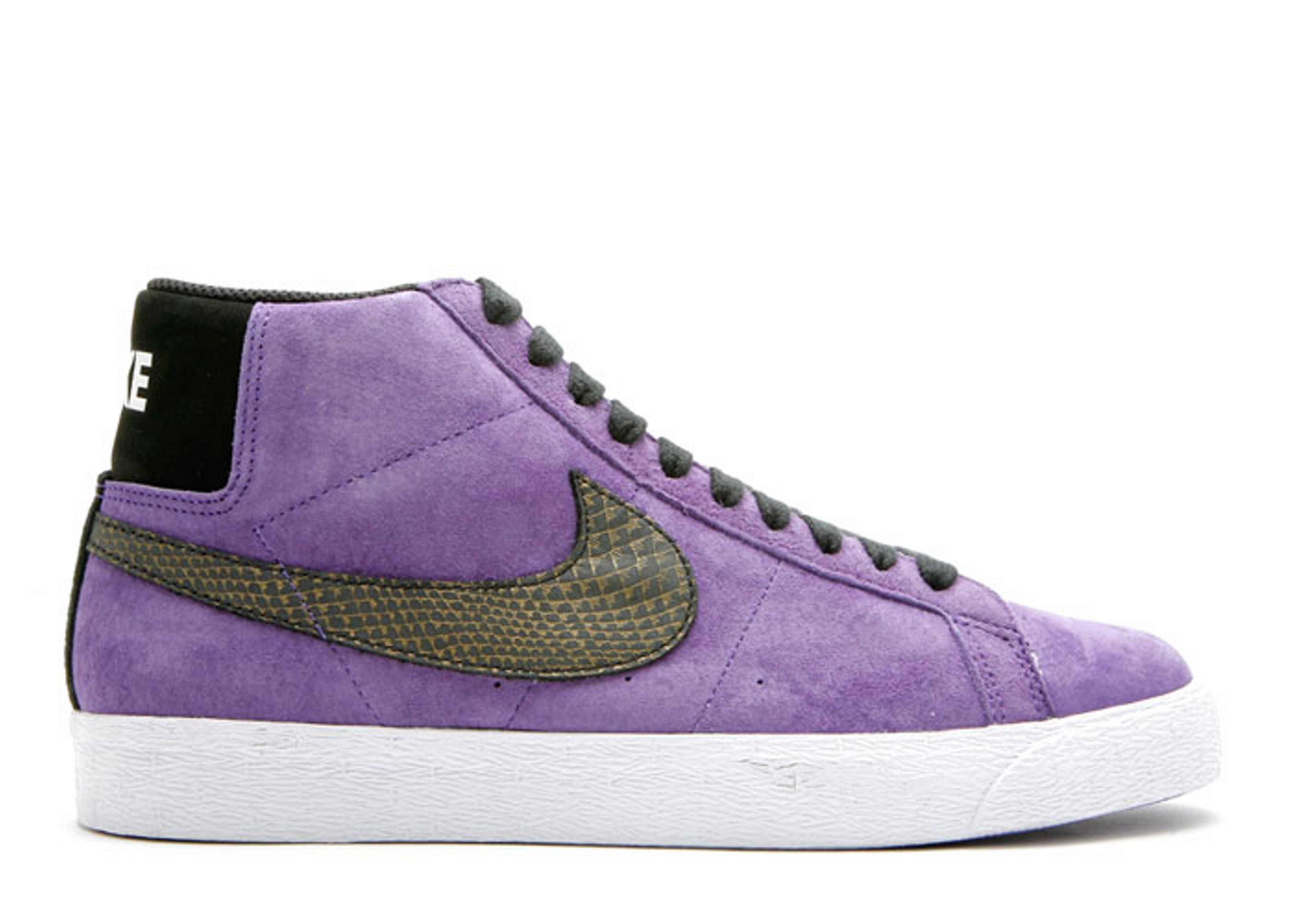 nike blazer purple